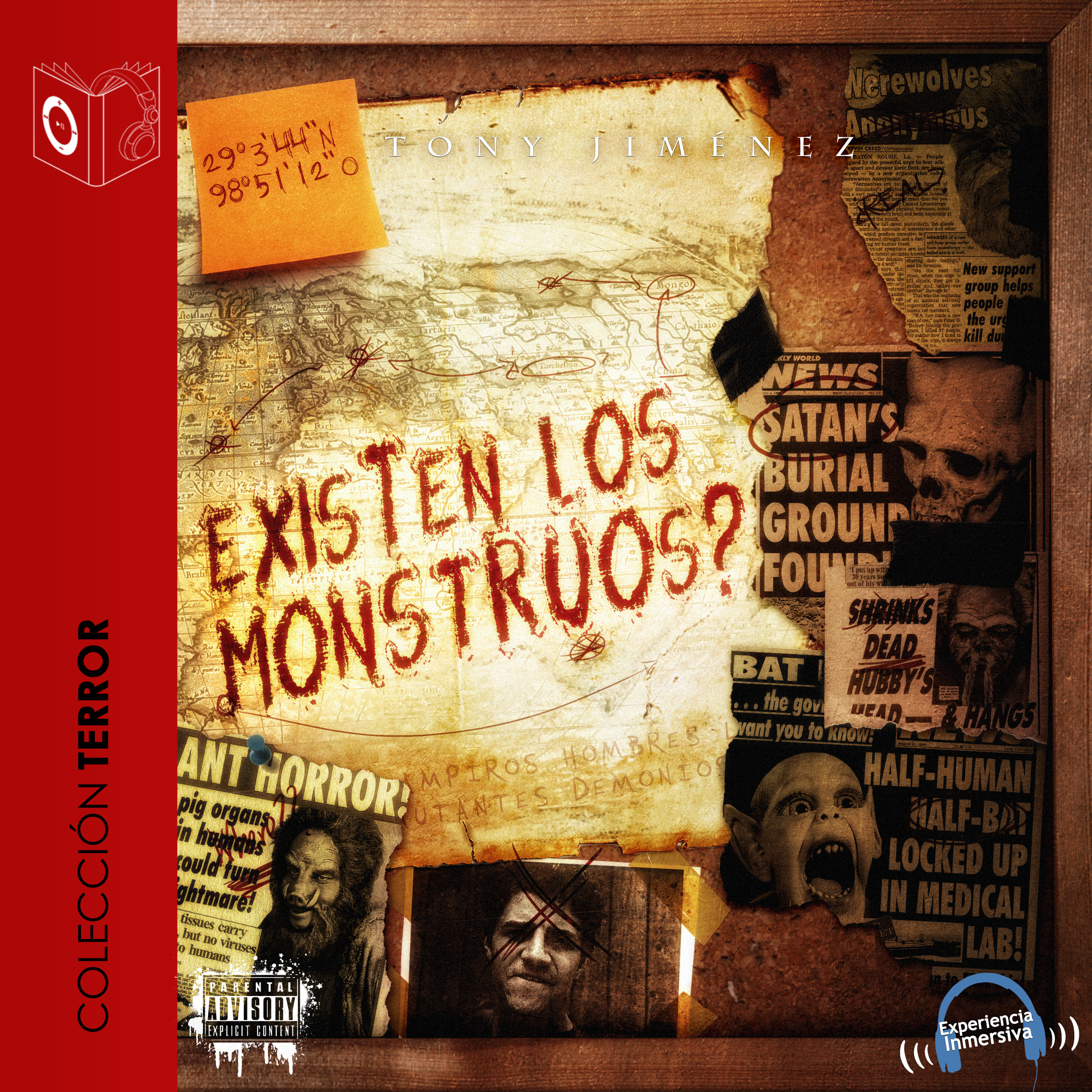 Printable ¿Existen los monstruos? Audiobook Cover Art