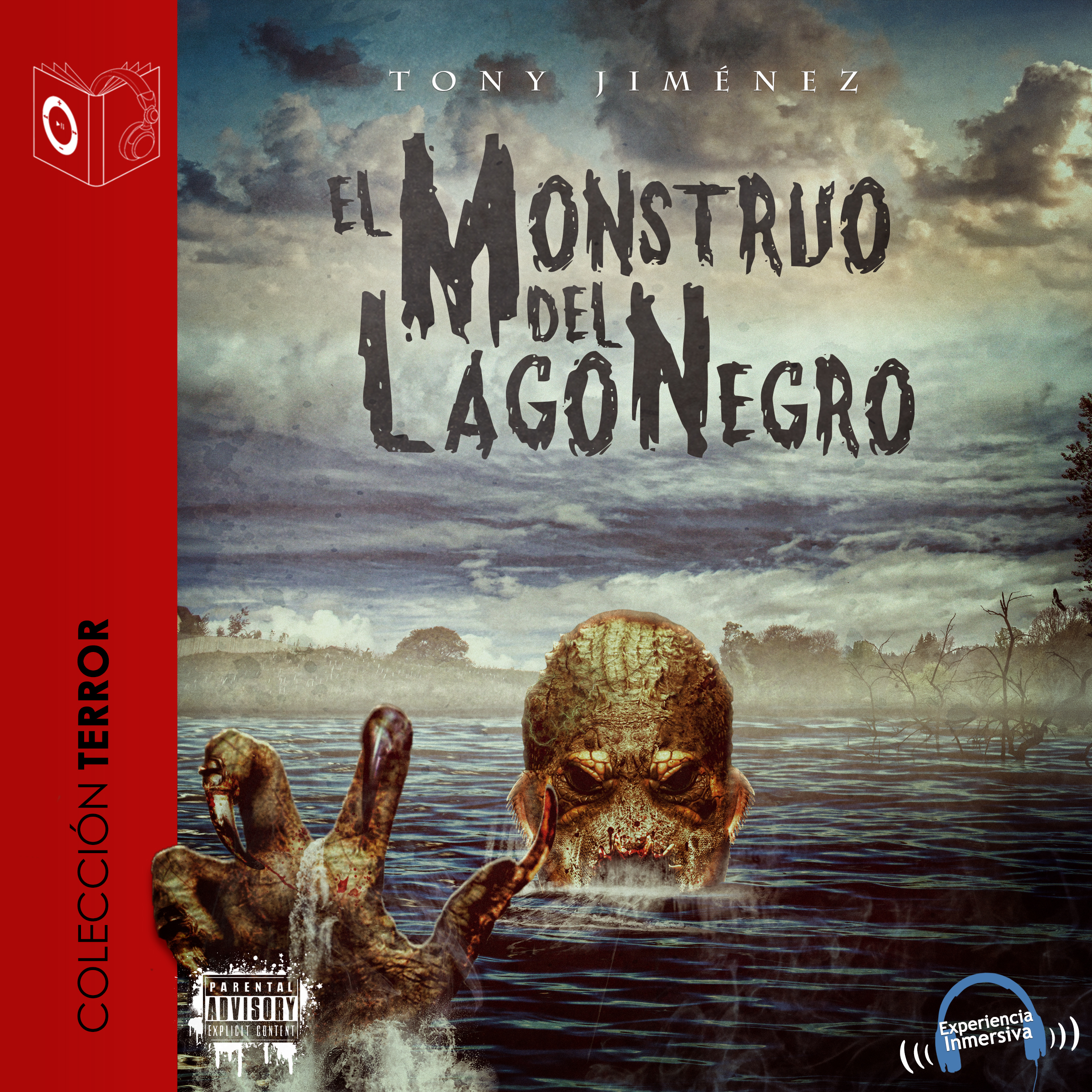 Printable El Monstruo del Lago Negro Audiobook Cover Art