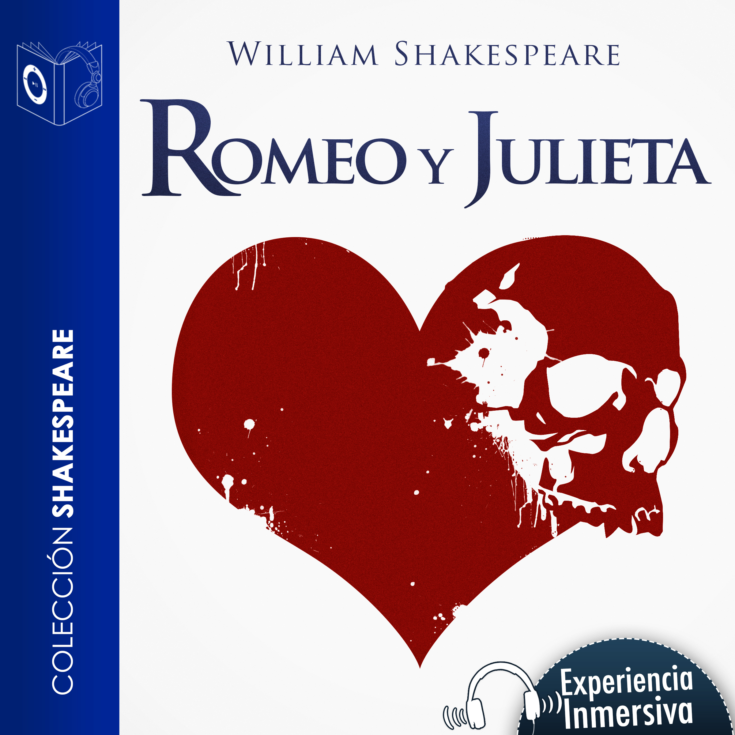Printable Romeo y Julieta (Abridged) Audiobook Cover Art