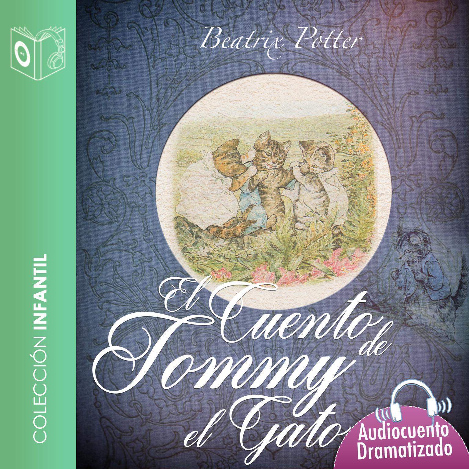 El cuento de Tommy el gato Audiobook, by Beatrix Potter