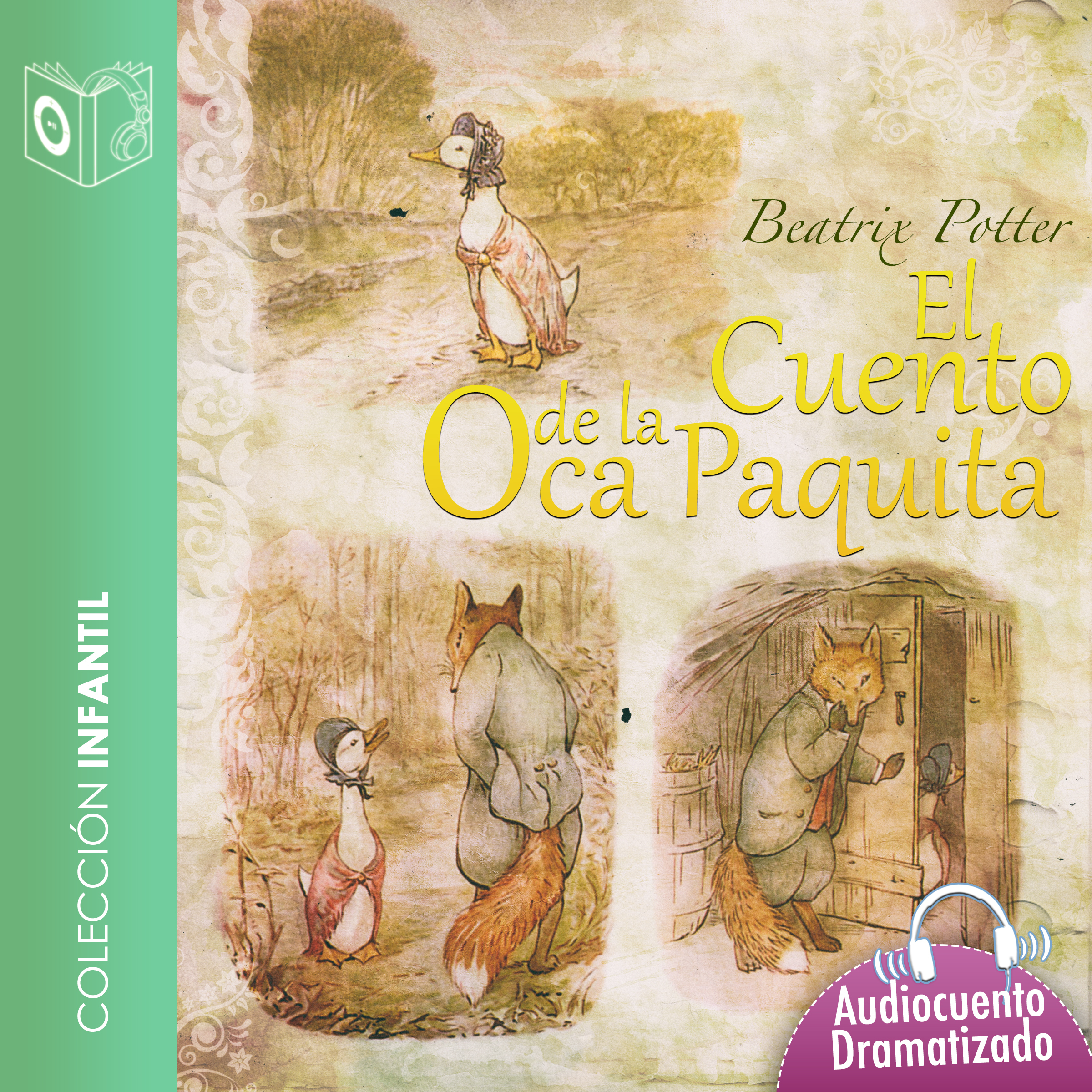 Printable El cuento de la oca Paquita Audiobook Cover Art