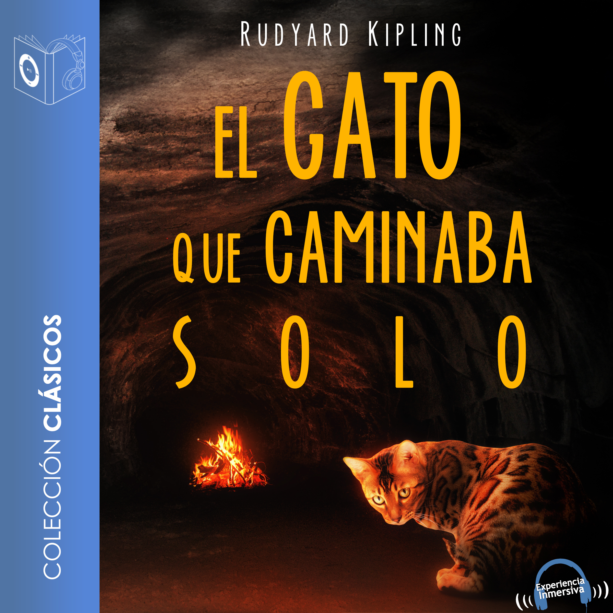 Printable El gato que caminaba solo Audiobook Cover Art
