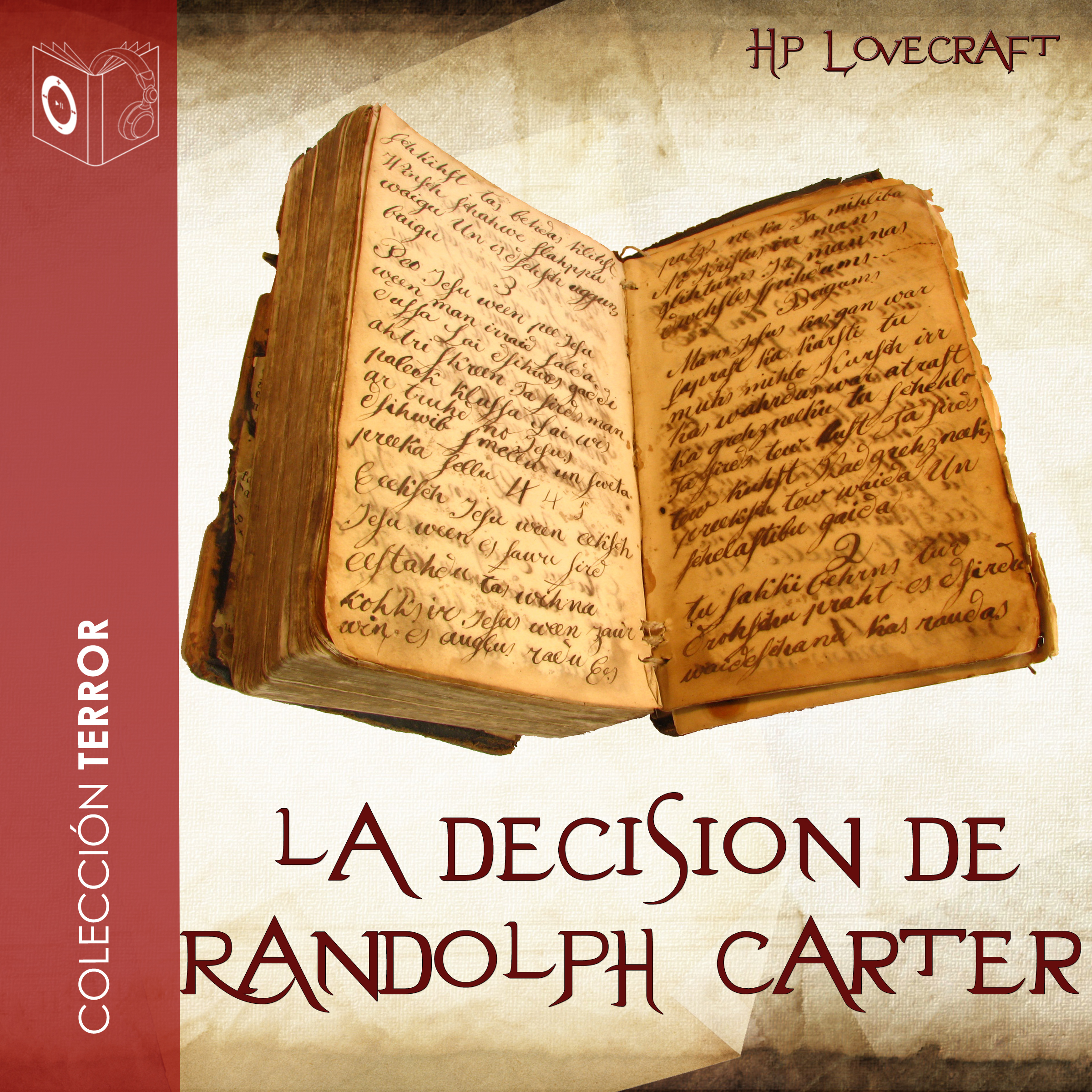 Printable La decisión de Randolph Carter Audiobook Cover Art