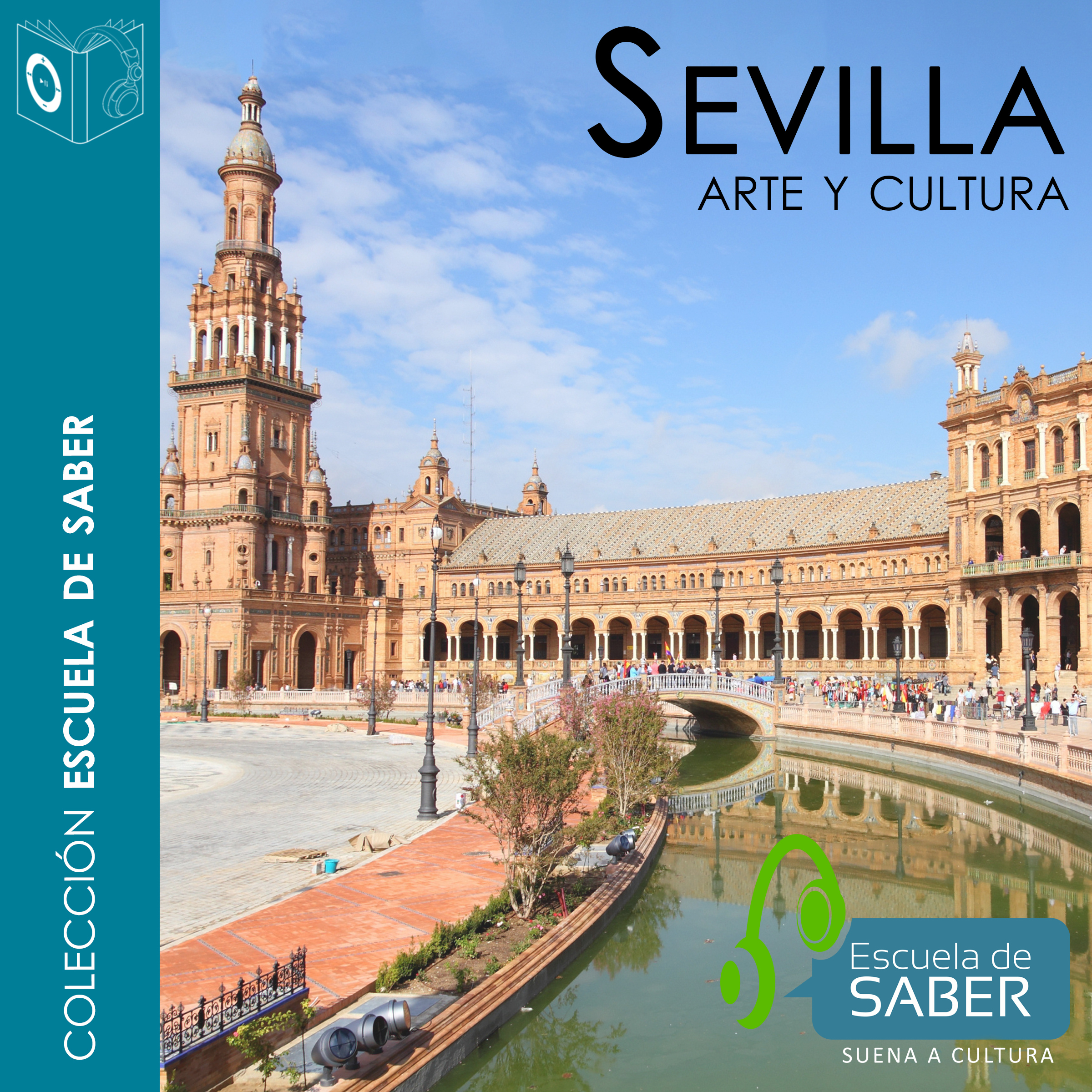 Printable Sevilla Audiobook Cover Art