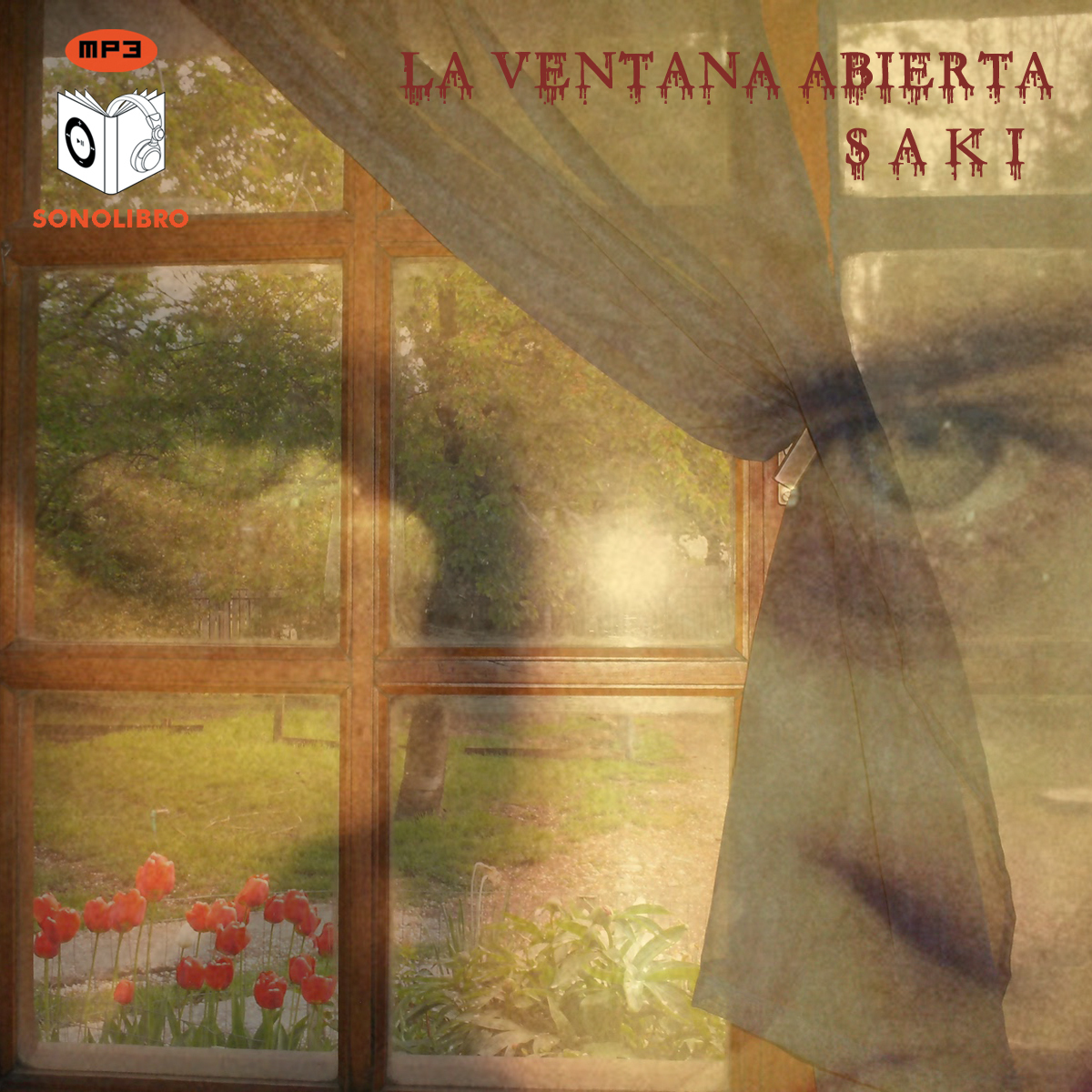 Printable La ventana abierta Audiobook Cover Art