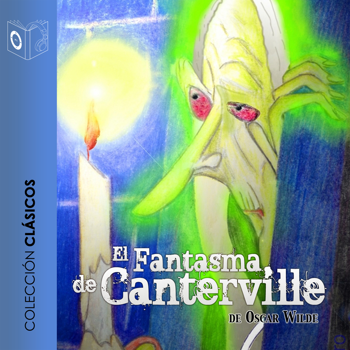 Printable El fantasma de Canterville Audiobook Cover Art