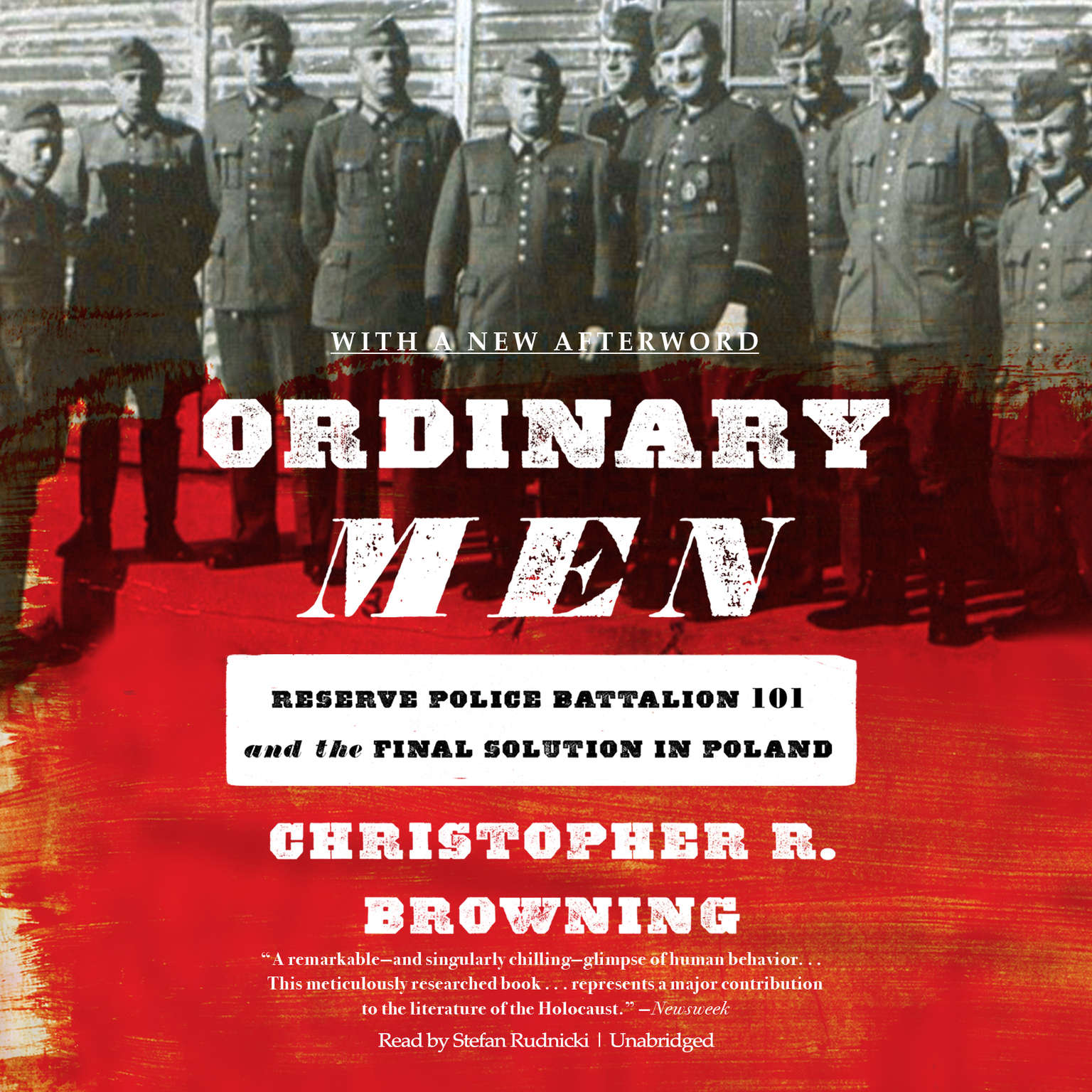 Printable Ordinary Men: Reserve Police Battalion 101 and the Final Solution in Poland Audiobook Cover Art