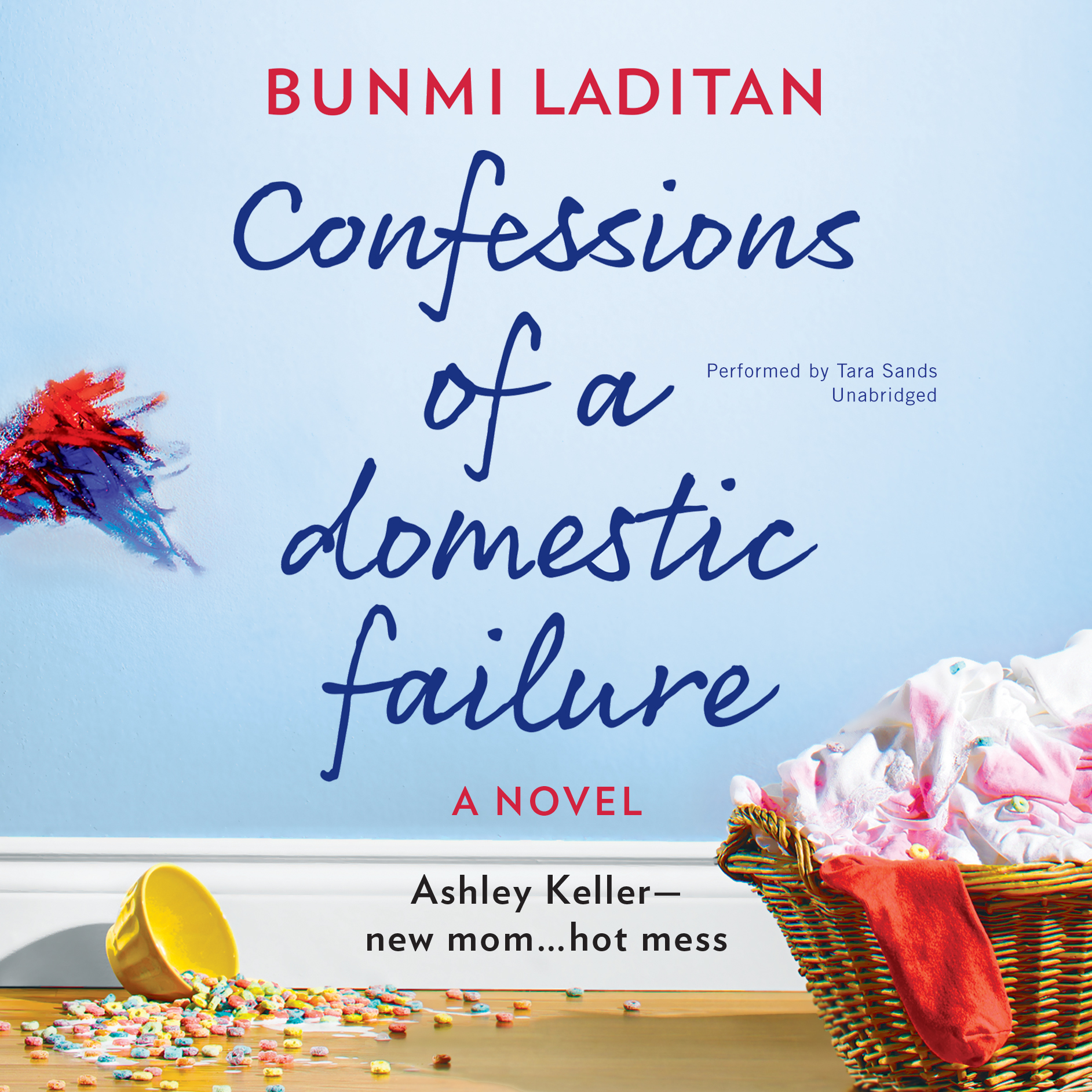 Printable Confessions of a Domestic Failure: A Humorous Book about a Not-So-Perfect Mom Audiobook Cover Art