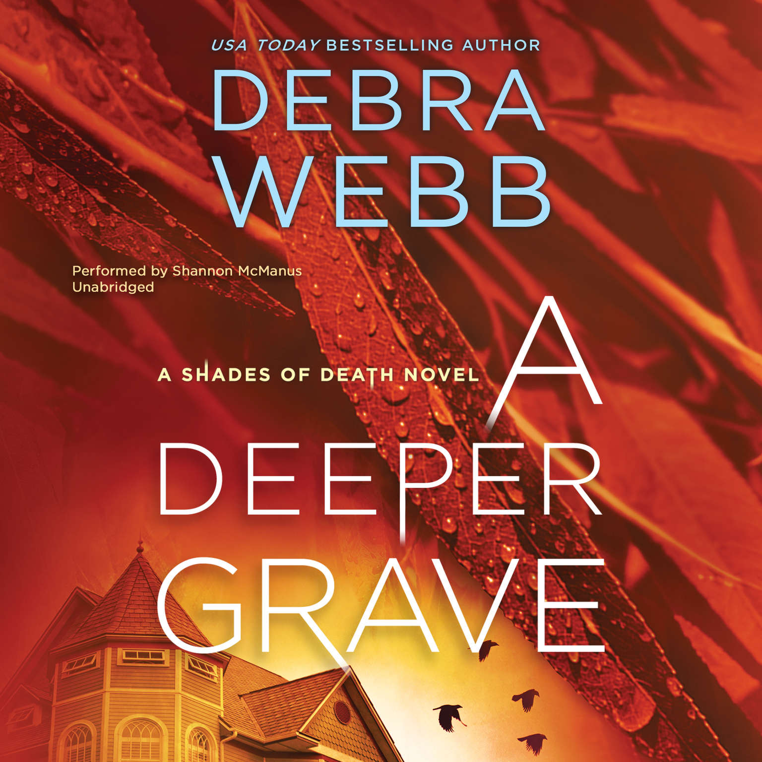 Printable A Deeper Grave: A Thriller (Shades of Death) Audiobook Cover Art
