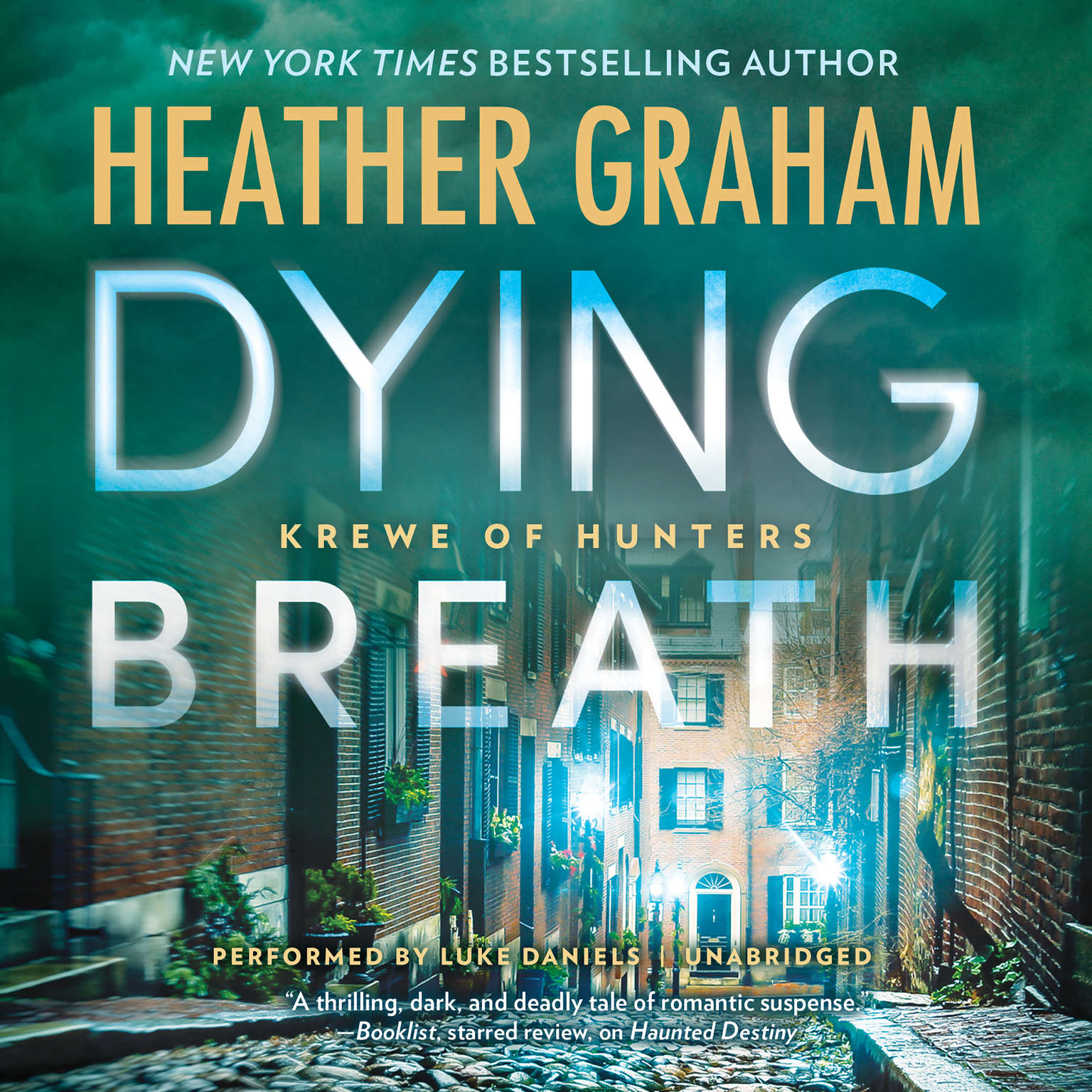 Printable Dying Breath: Krewe of Hunters, #21 Audiobook Cover Art