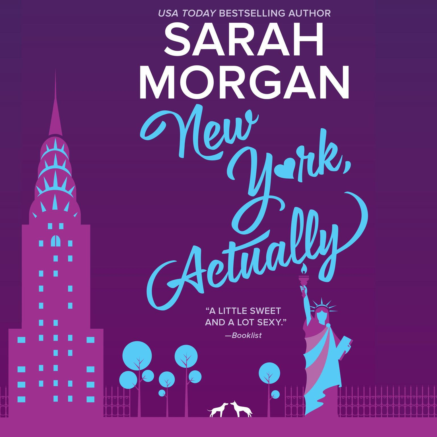 Printable New York, Actually: From Manhattan with Love #4 Audiobook Cover Art
