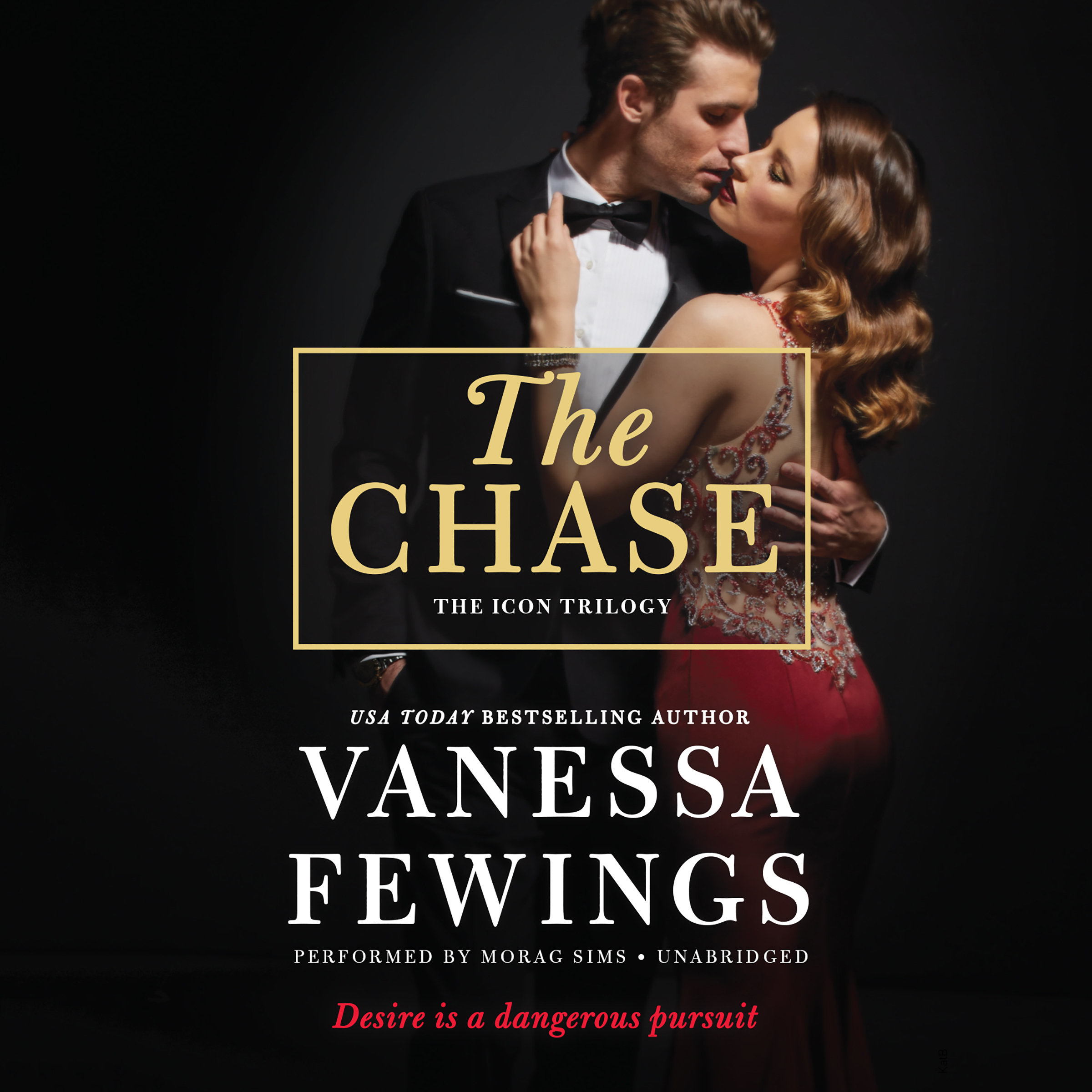 Printable The Chase: An Icon Trilogy Novel Audiobook Cover Art