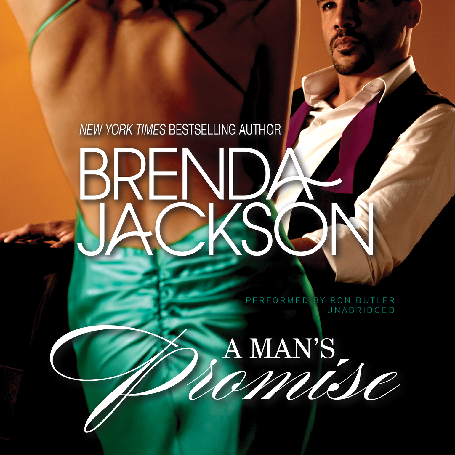 Printable A Man's Promise Audiobook Cover Art