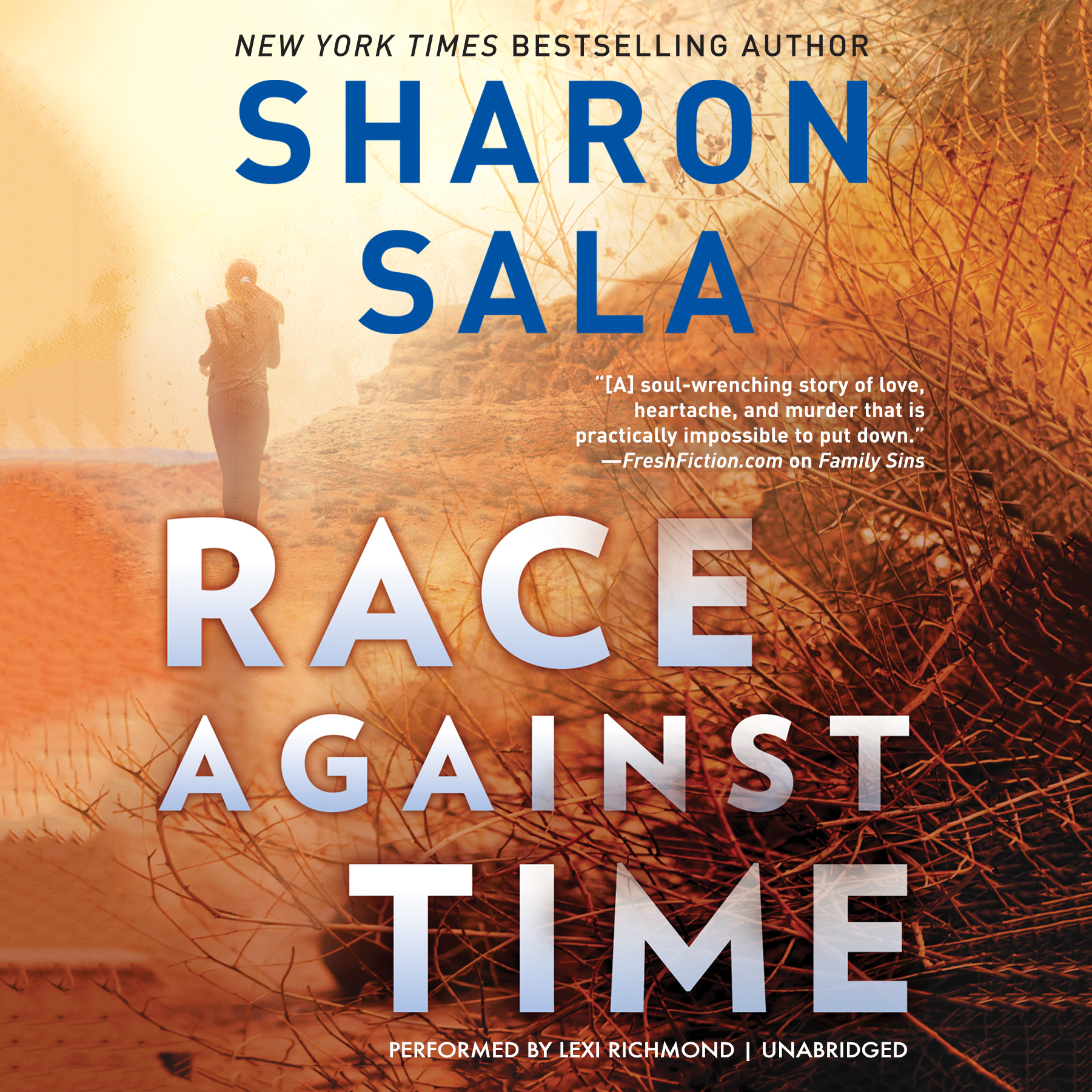 Printable Race against Time Audiobook Cover Art