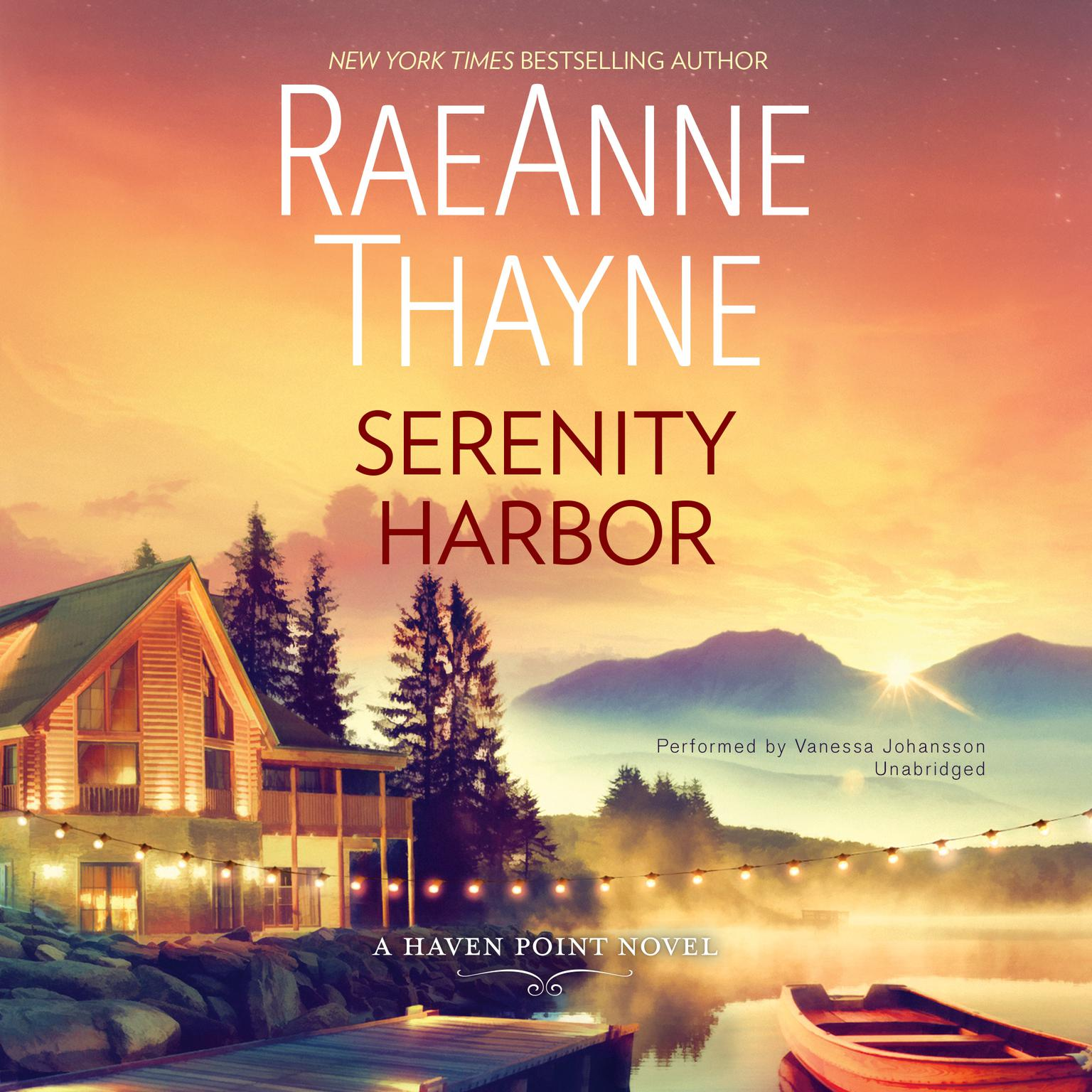 Printable Serenity Harbor: A Haven Point Novel Audiobook Cover Art
