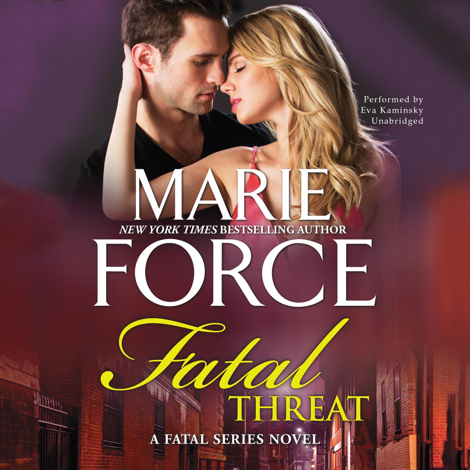 Printable Fatal Threat: A Fatal Series Novel Audiobook Cover Art