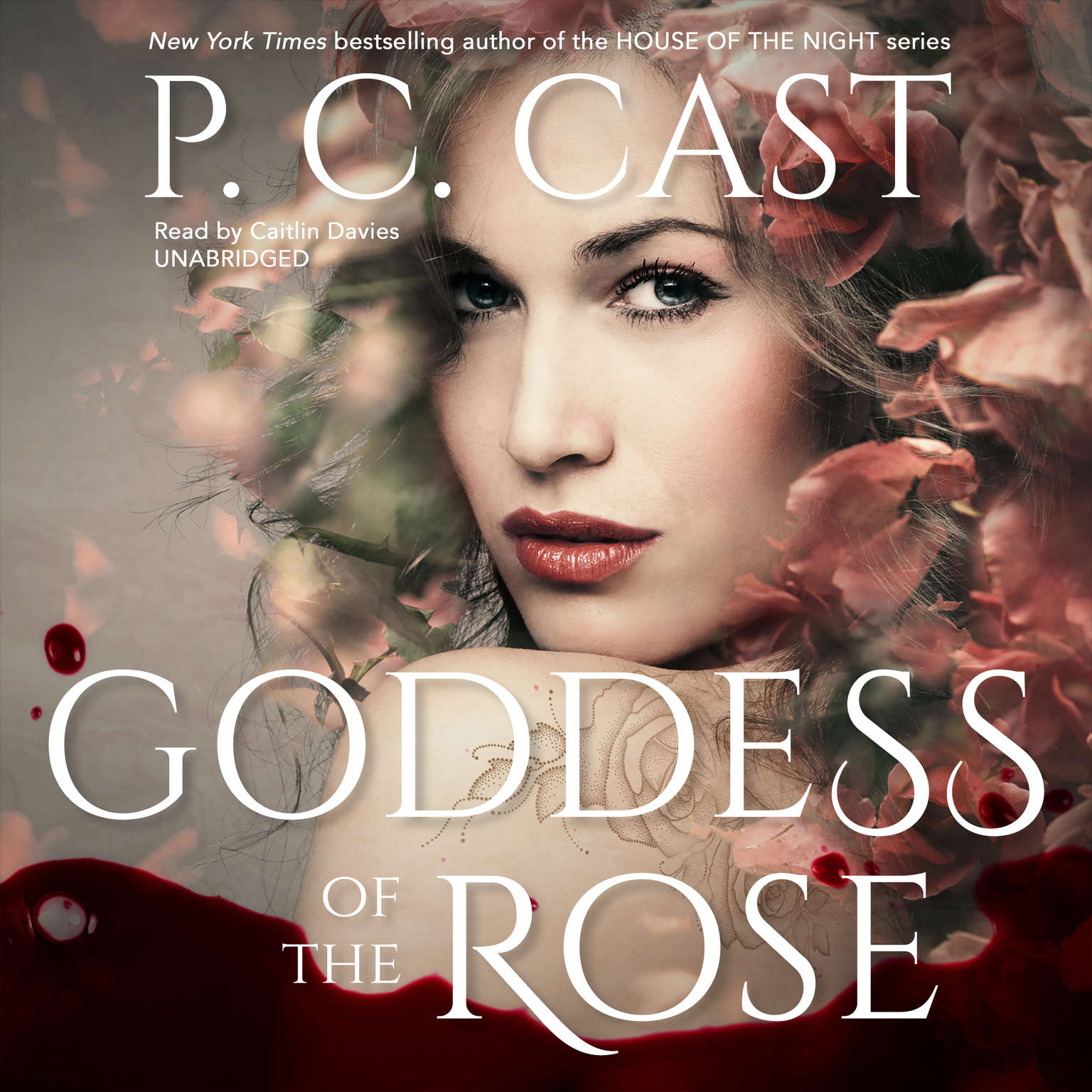 Printable Goddess of the Rose Audiobook Cover Art