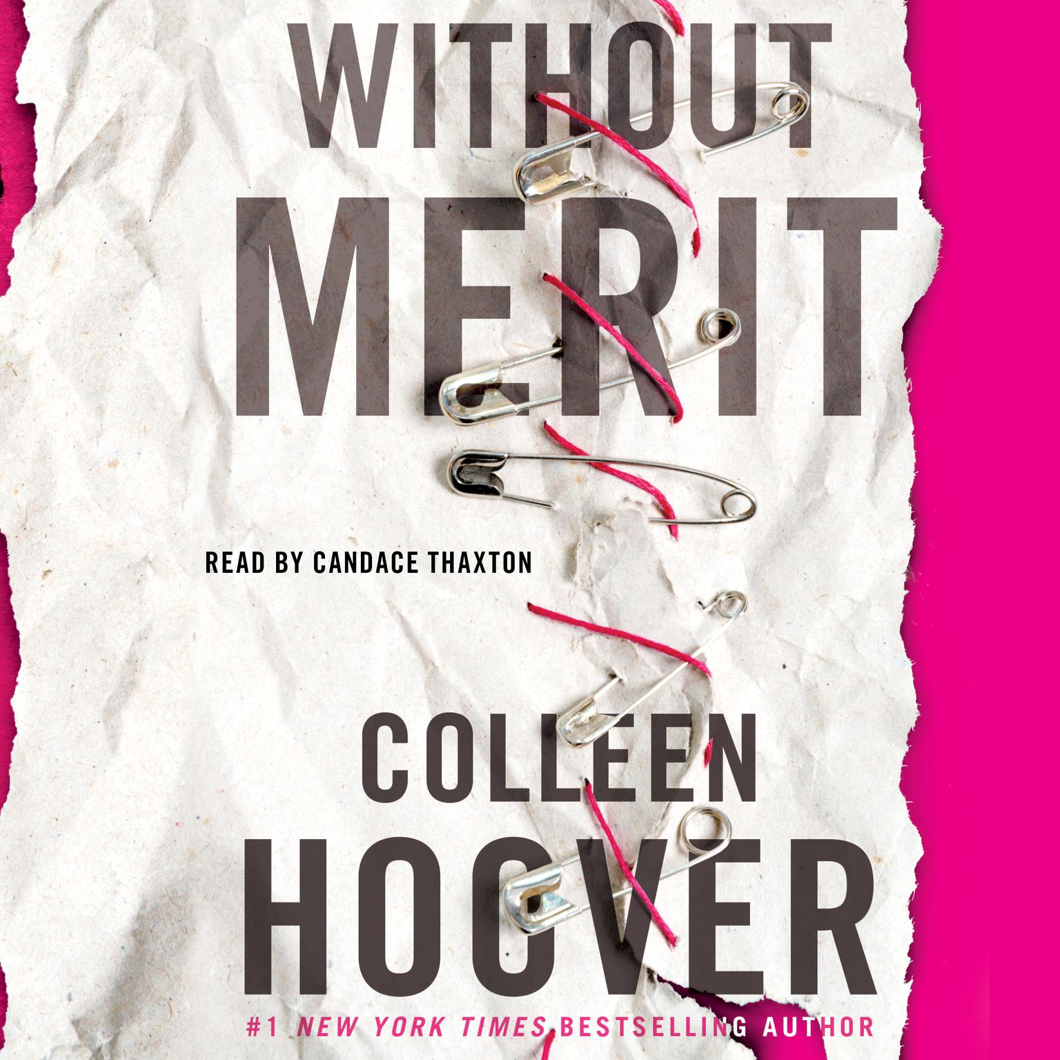 Printable Without Merit: A Novel Audiobook Cover Art