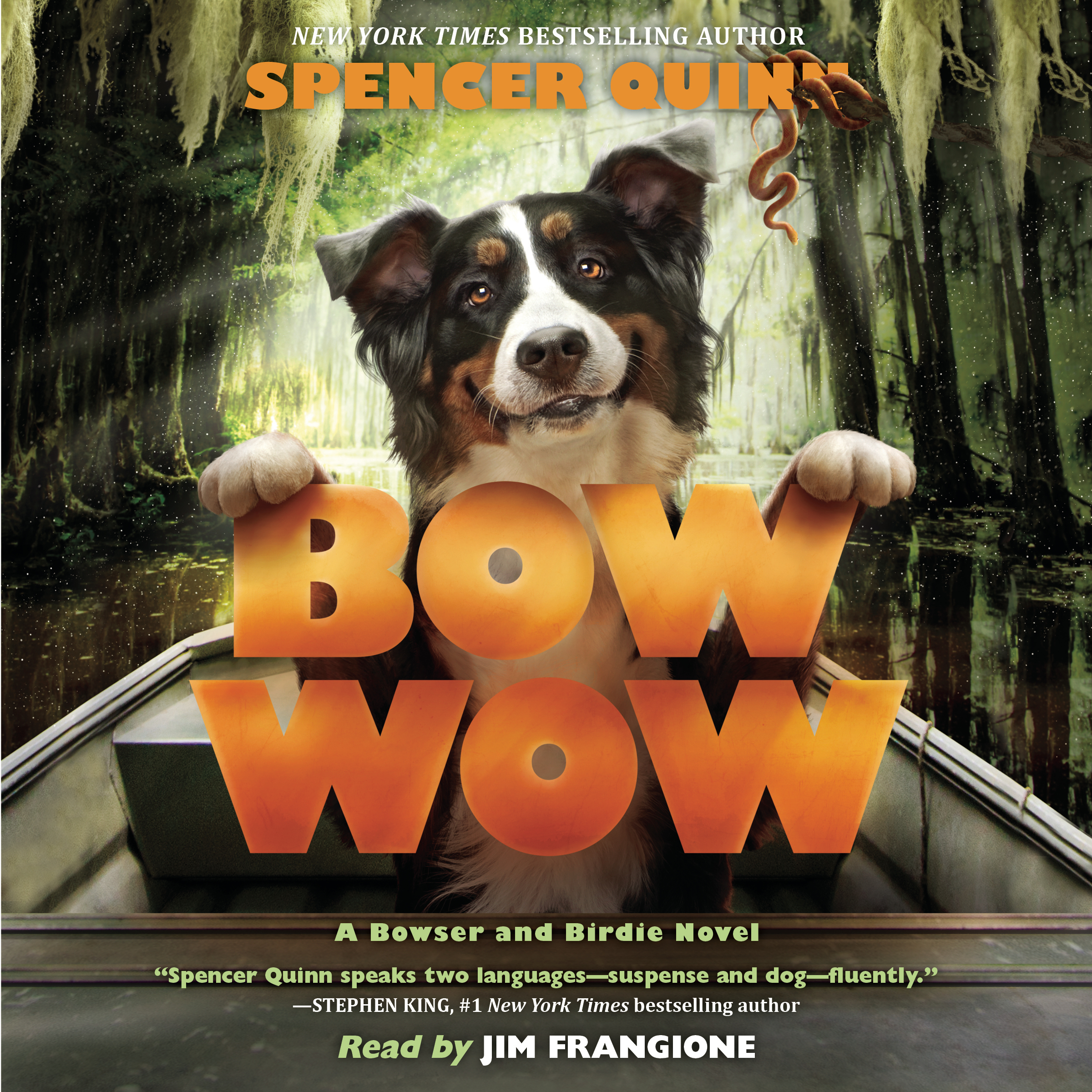 Printable Bow Wow: A Bowser and Birdie Novel Audiobook Cover Art
