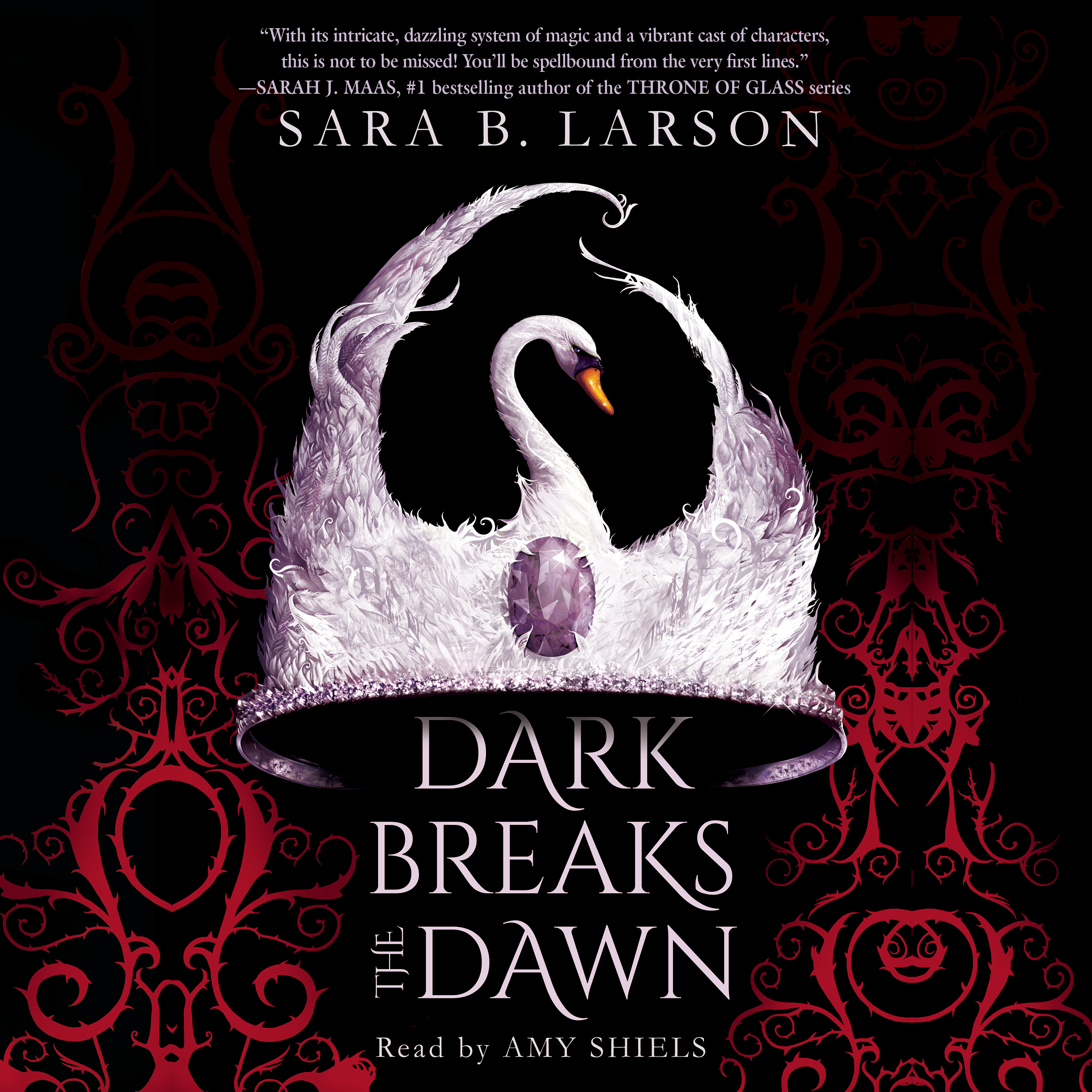 Printable Dark Breaks the Dawn Audiobook Cover Art