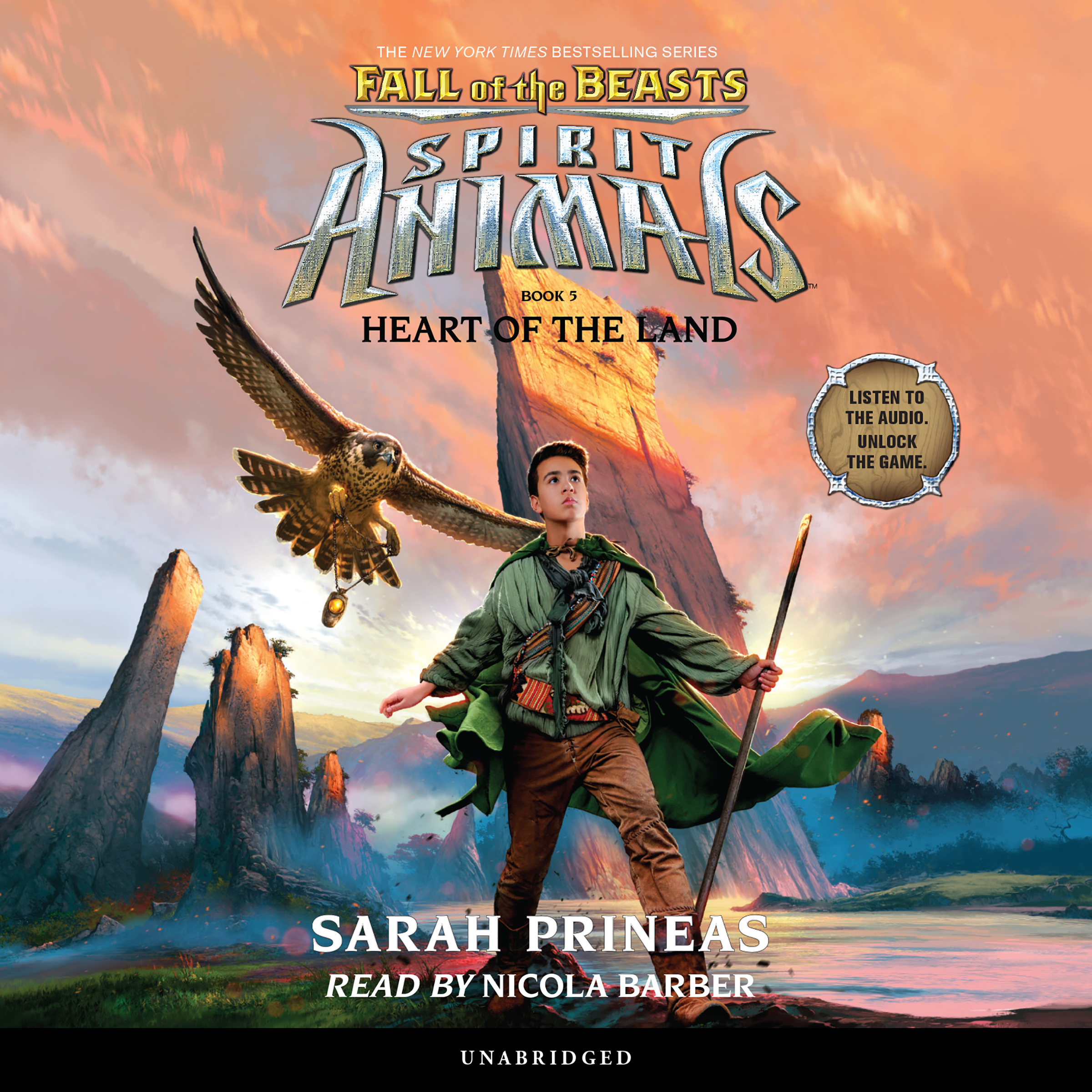 Printable Heart of the Land Audiobook Cover Art