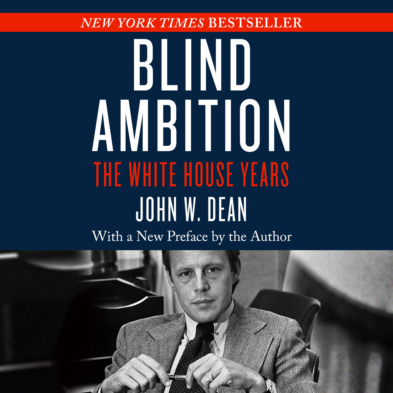 Printable Blind Ambition: The White House Years Audiobook Cover Art