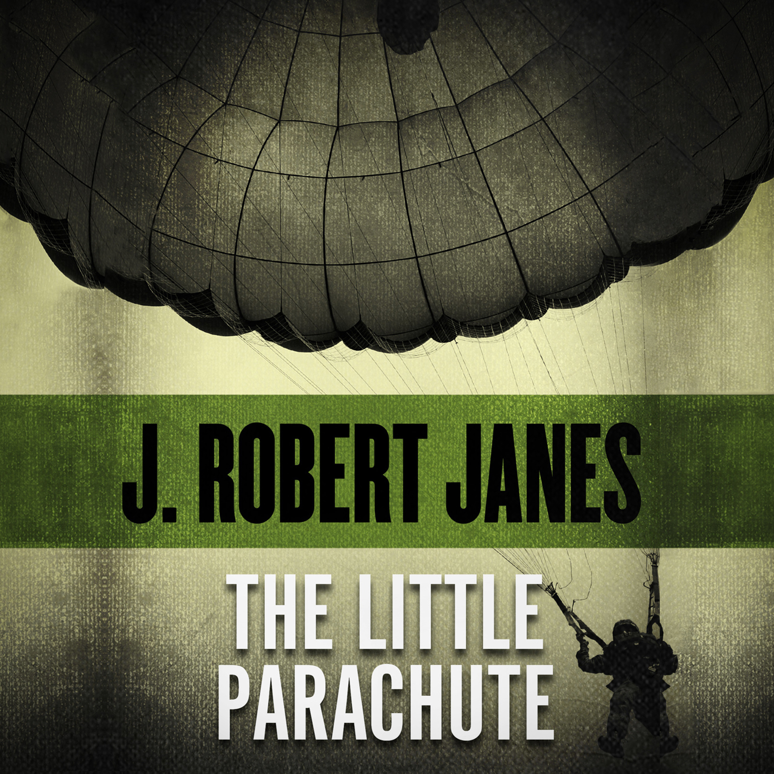 Printable The Little Parachute Audiobook Cover Art