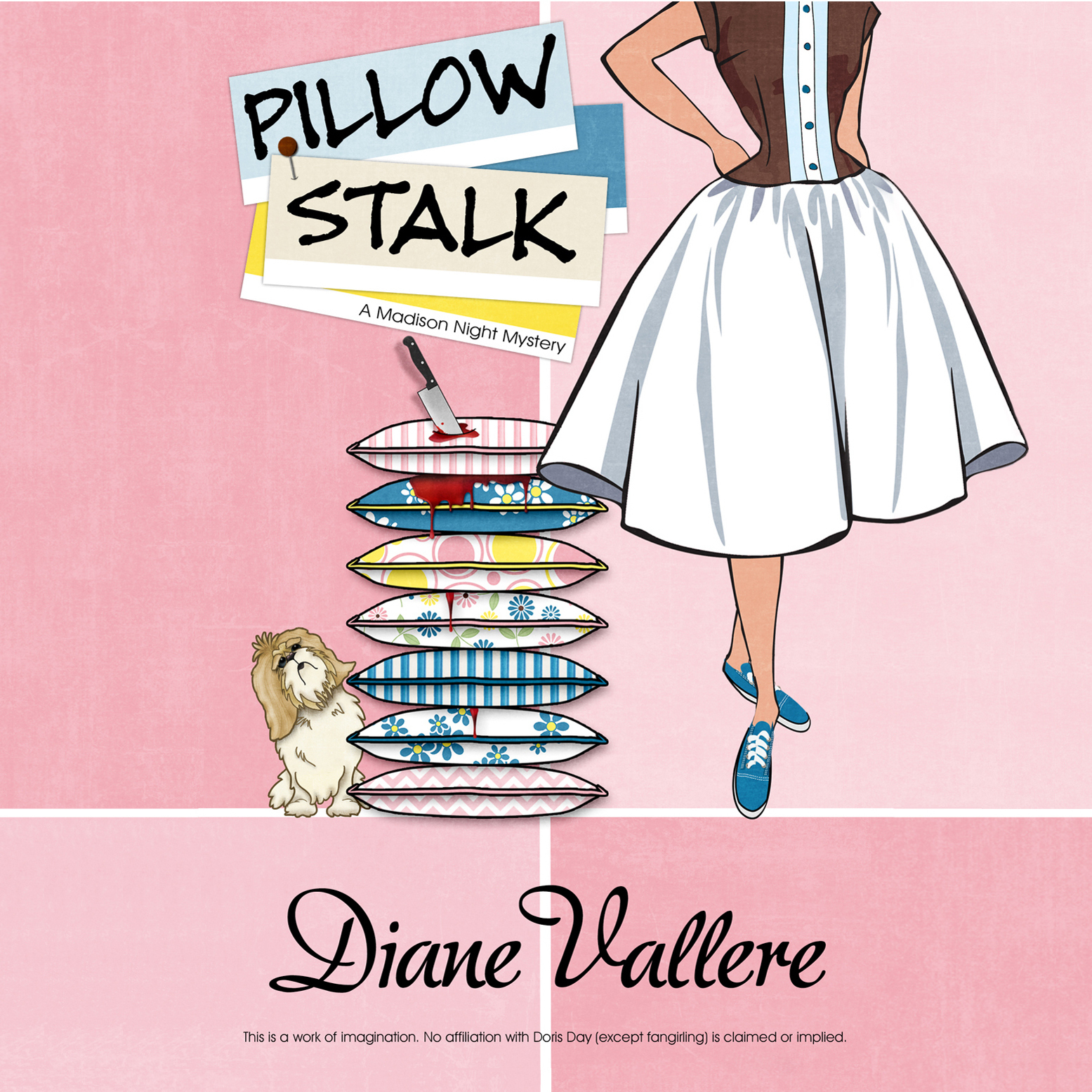 Printable Pillow Stalk Audiobook Cover Art