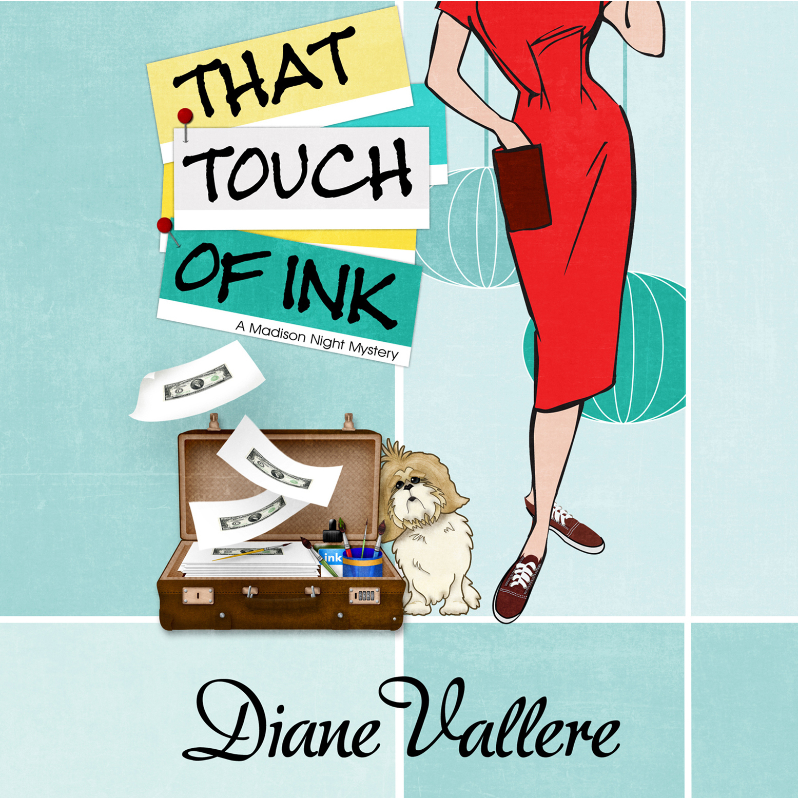 Printable That Touch of Ink Audiobook Cover Art