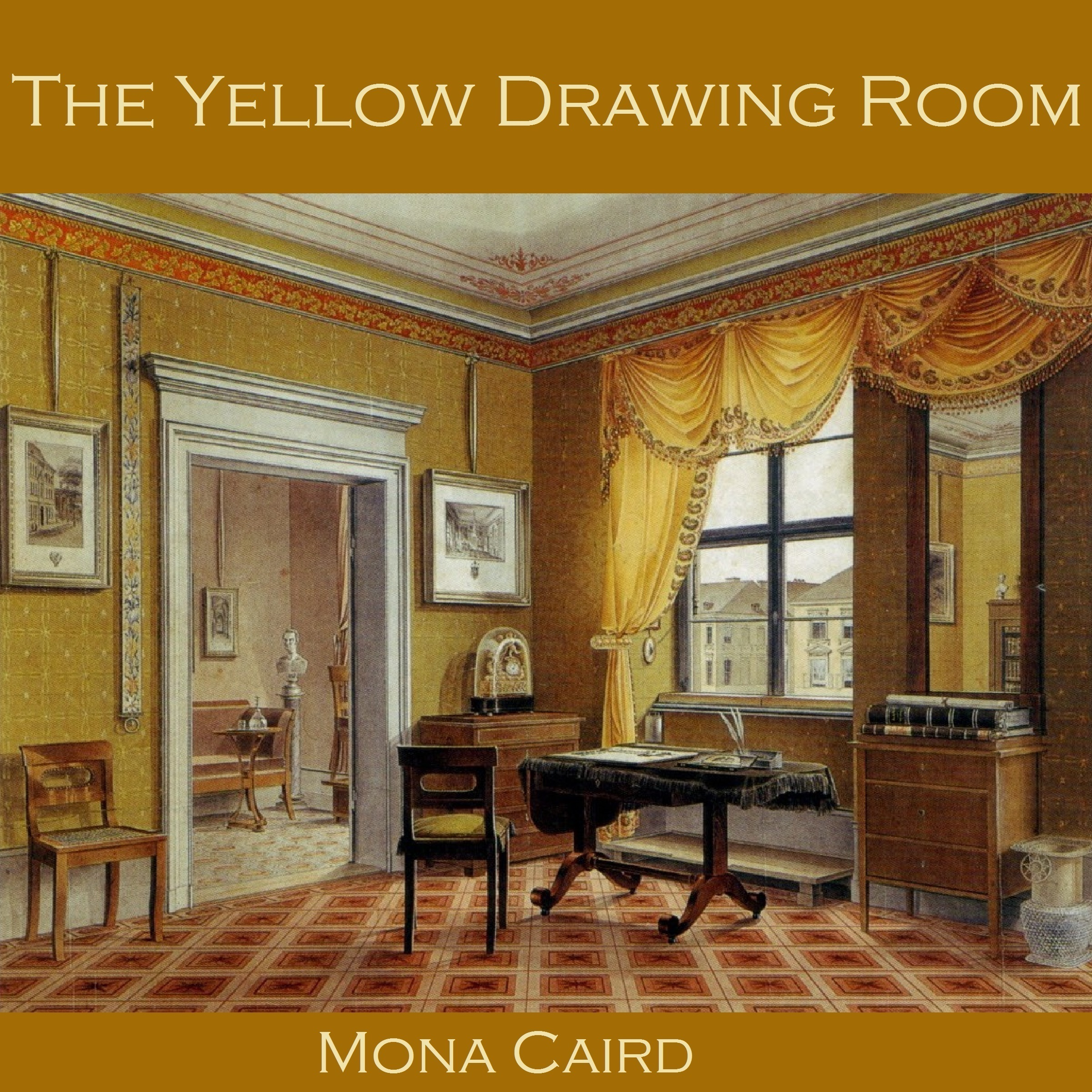 Printable The Yellow Drawing Room Audiobook Cover Art