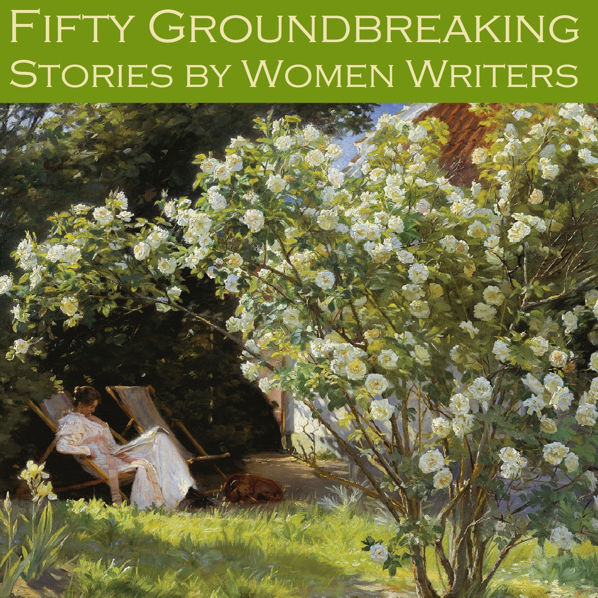 Printable Fifty Groundbreaking Stories by Women Writers Audiobook Cover Art