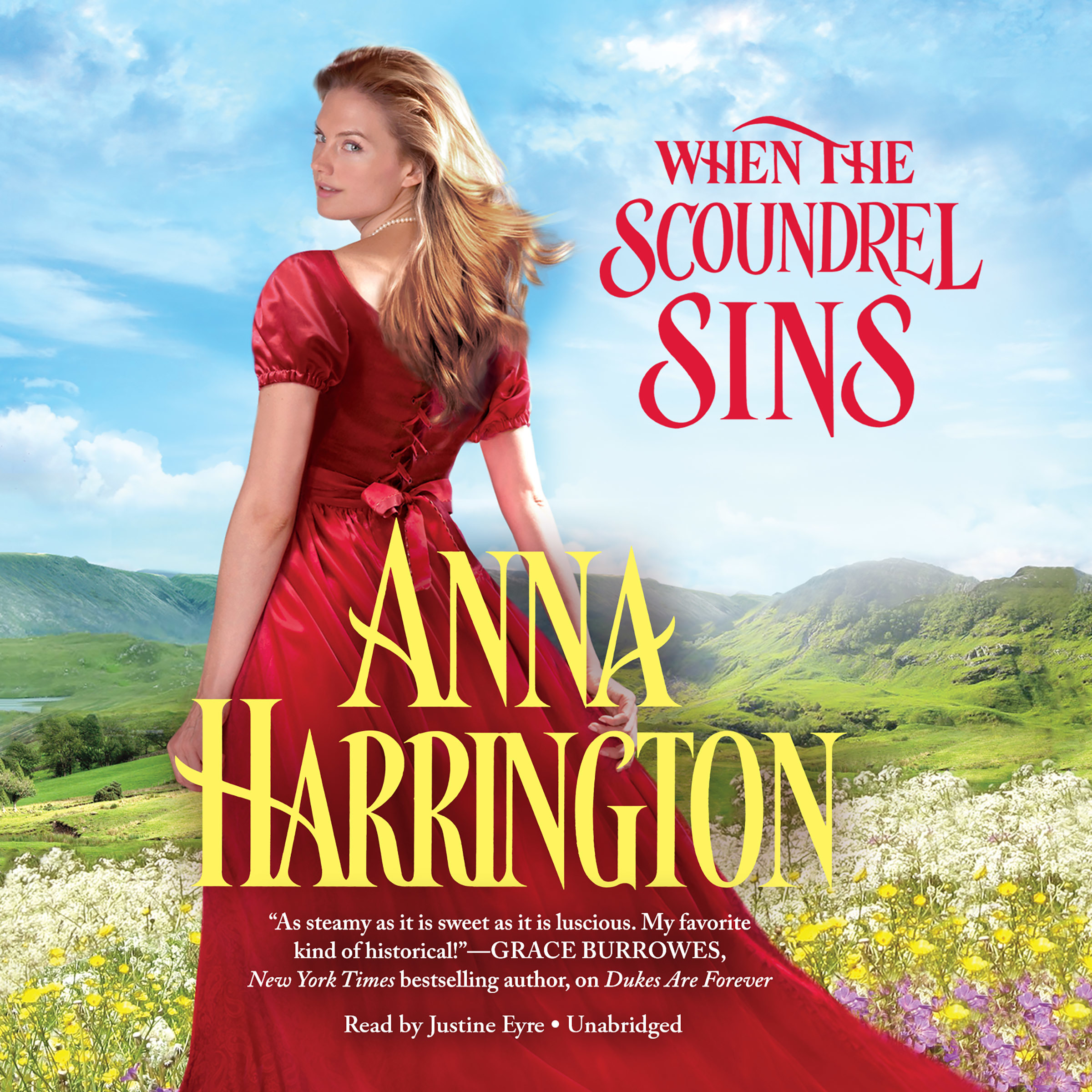 Printable When the Scoundrel Sins Audiobook Cover Art