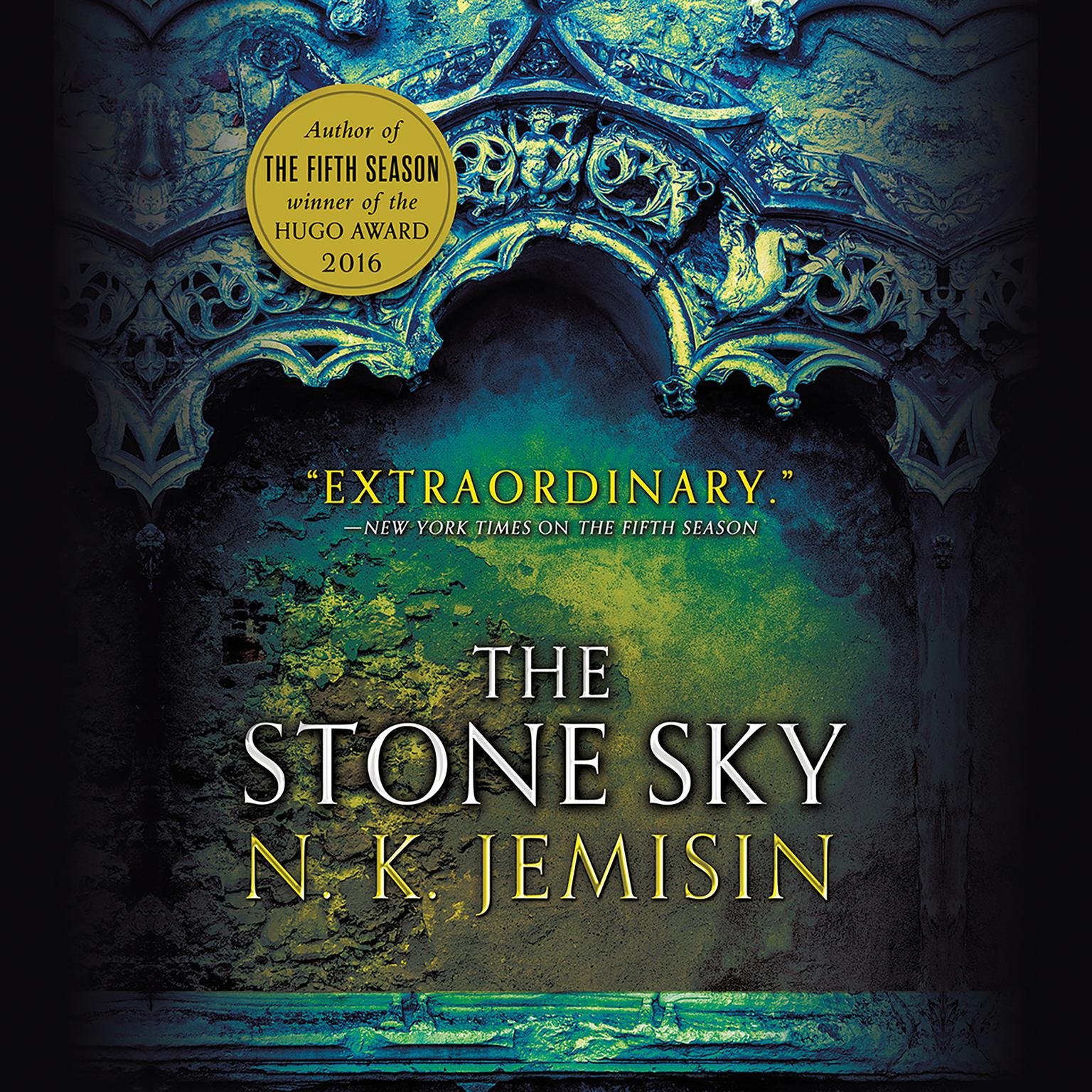 Printable The Stone Sky Audiobook Cover Art