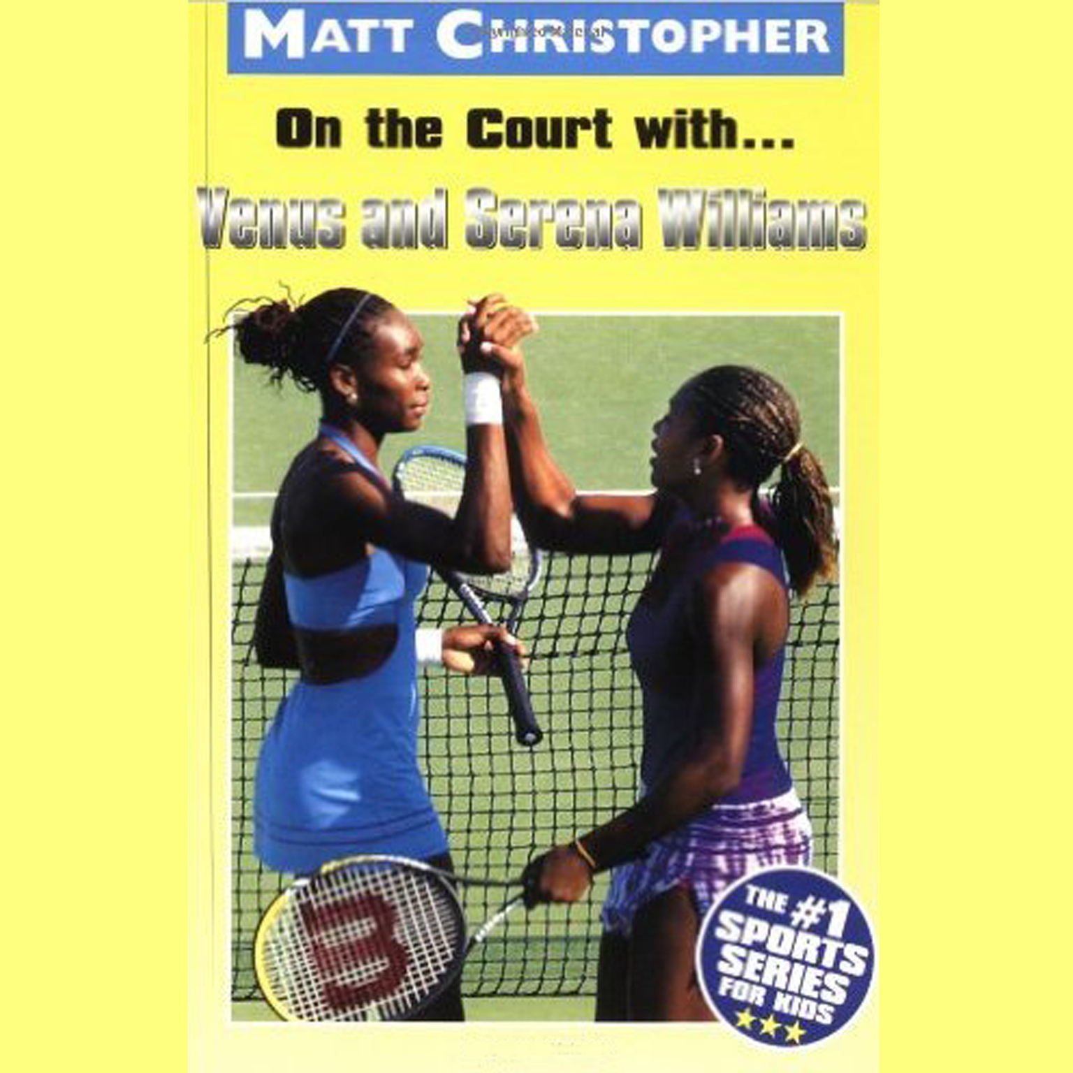 Printable On the Court with … Venus and Serena Williams Audiobook Cover Art