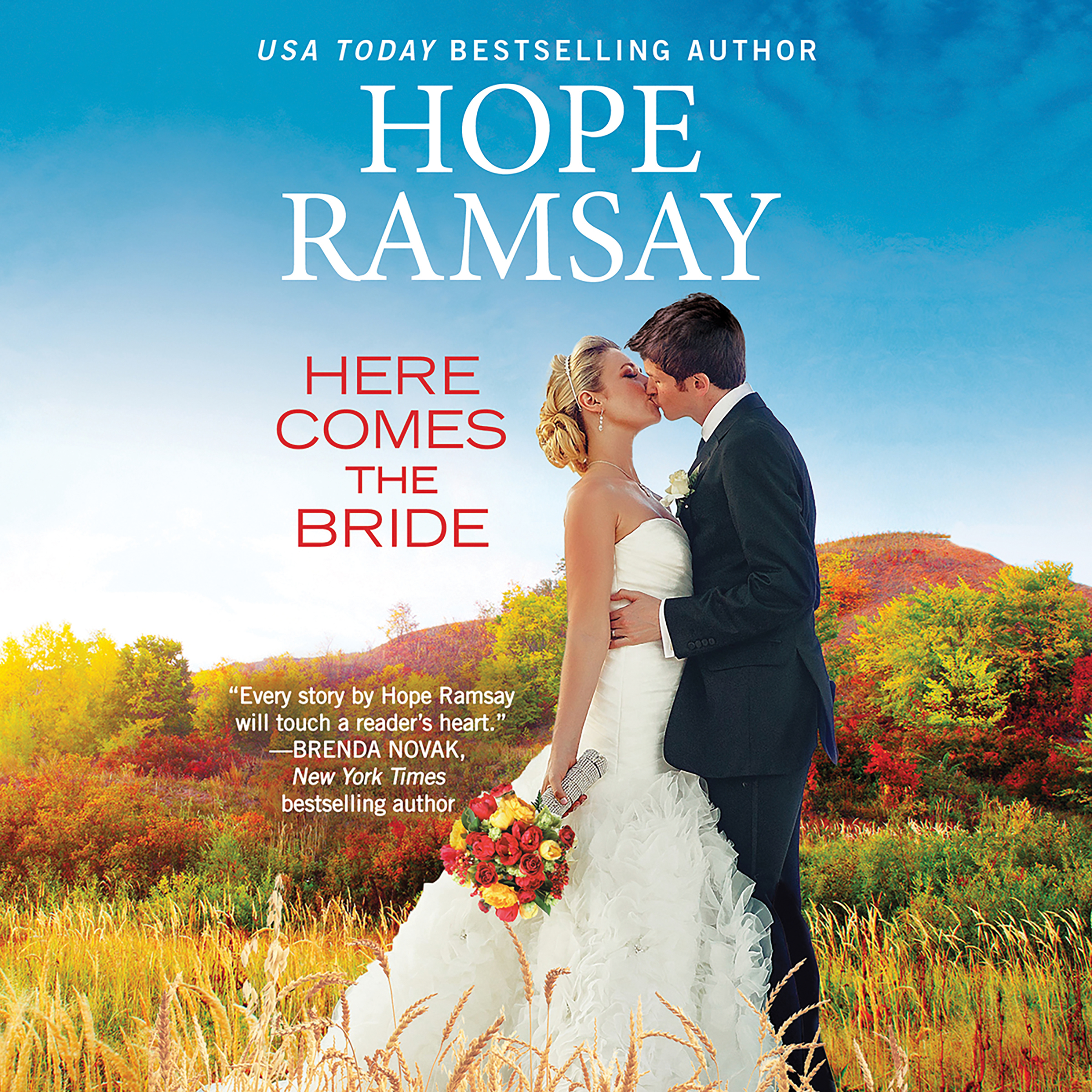 Printable Here Comes the Bride Audiobook Cover Art