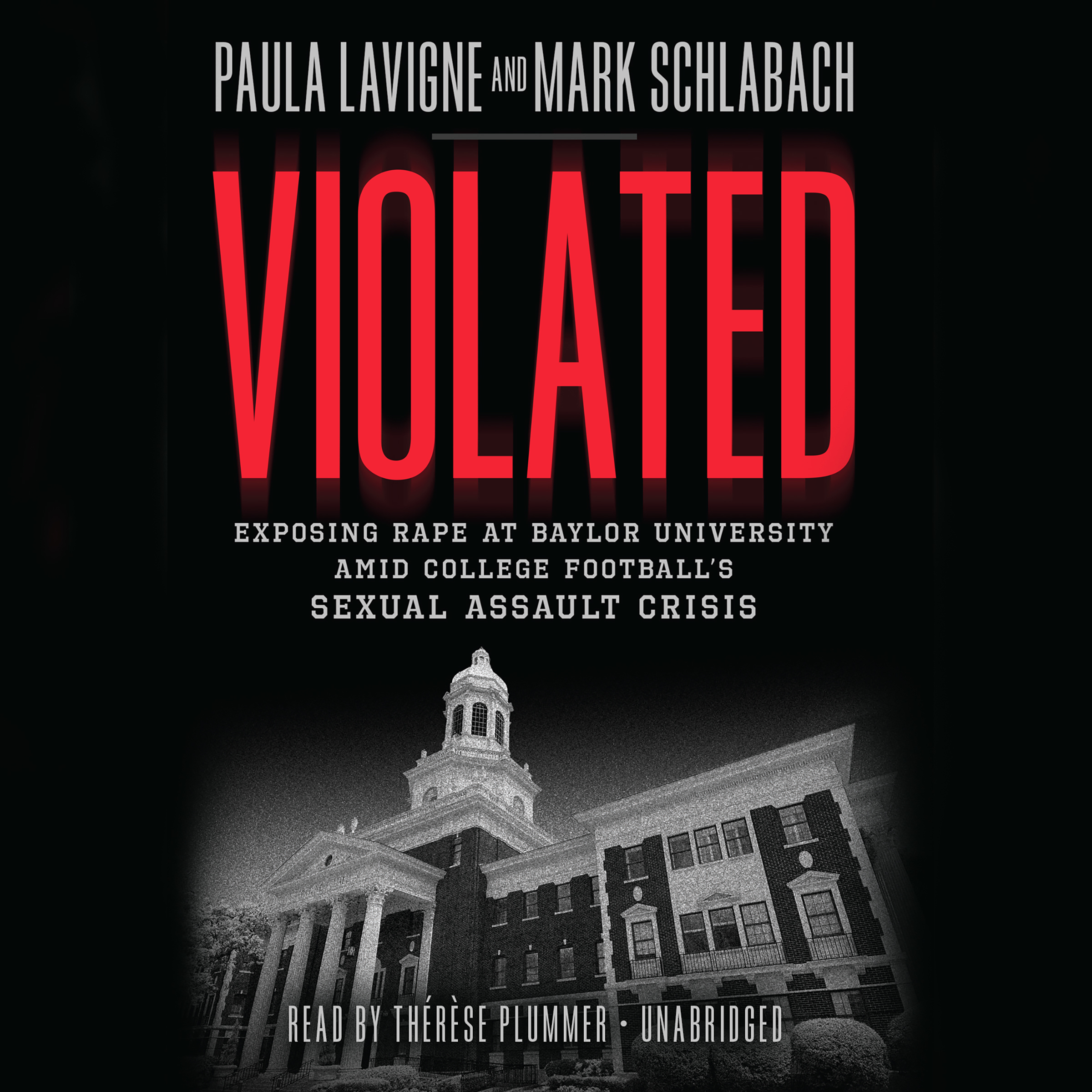 Printable Violated: Exposing Rape at Baylor University amid College Football's Sexual Assault Crisis Audiobook Cover Art