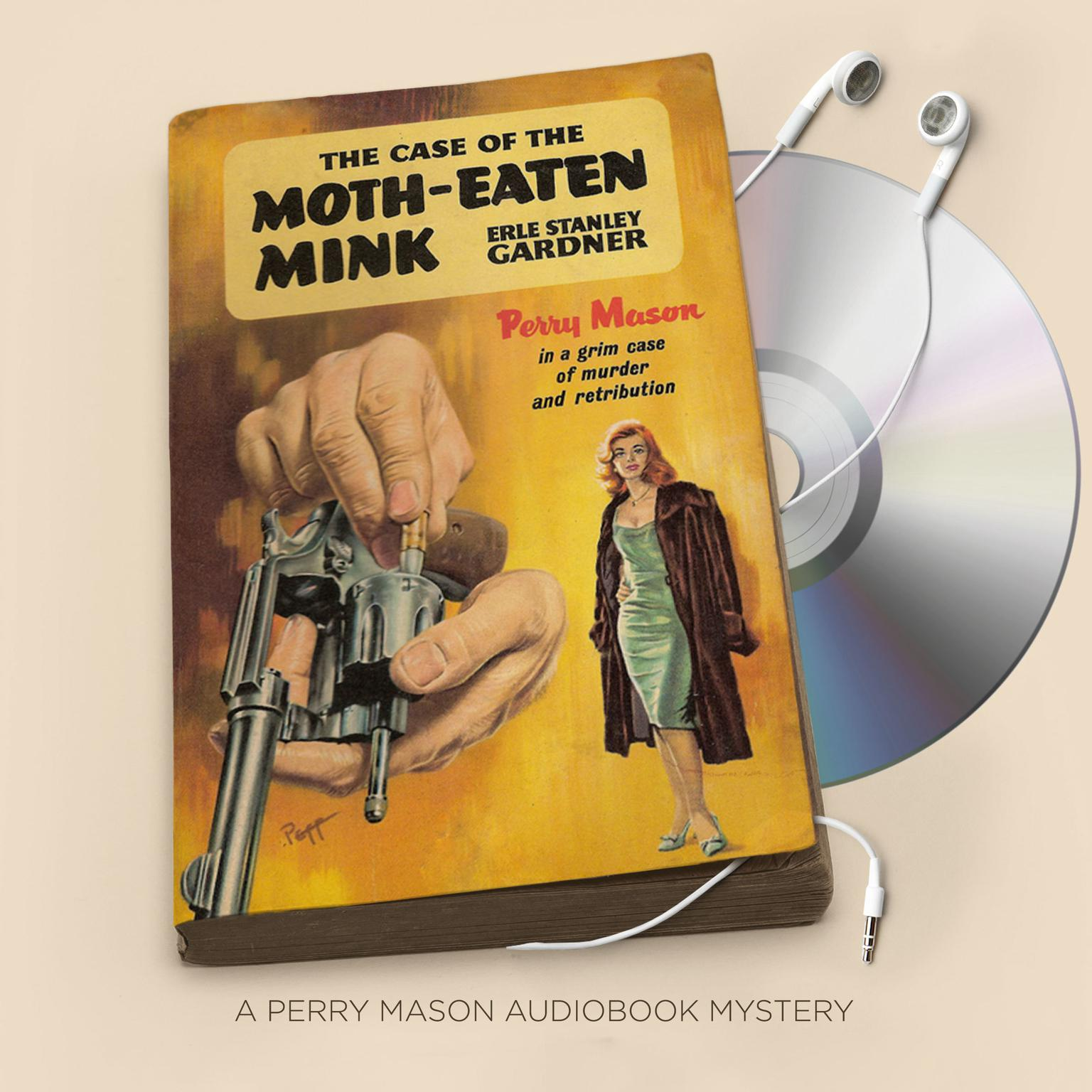 Printable The Case of the Moth-Eaten Mink Audiobook Cover Art