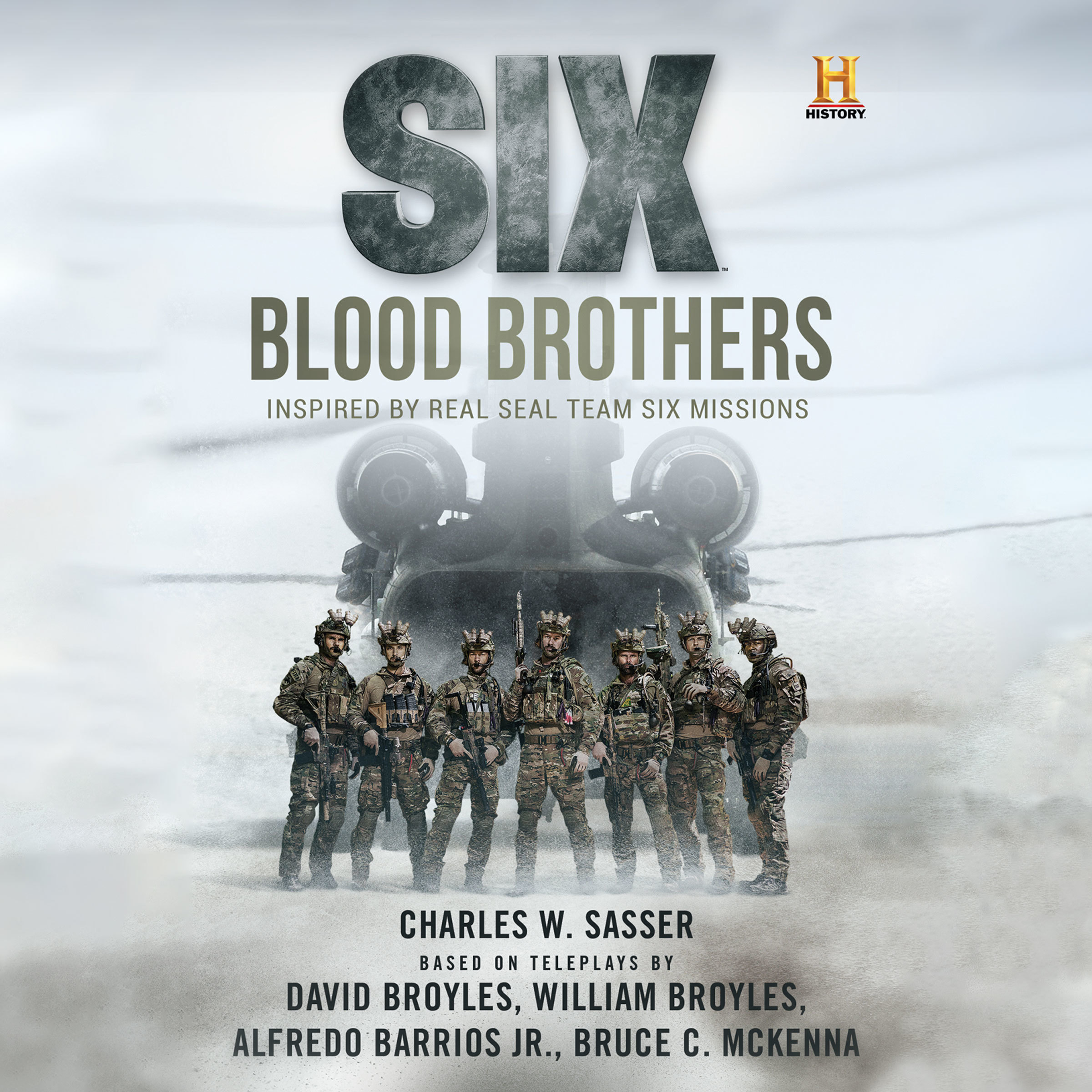 Printable Six: Blood Brothers Audiobook Cover Art