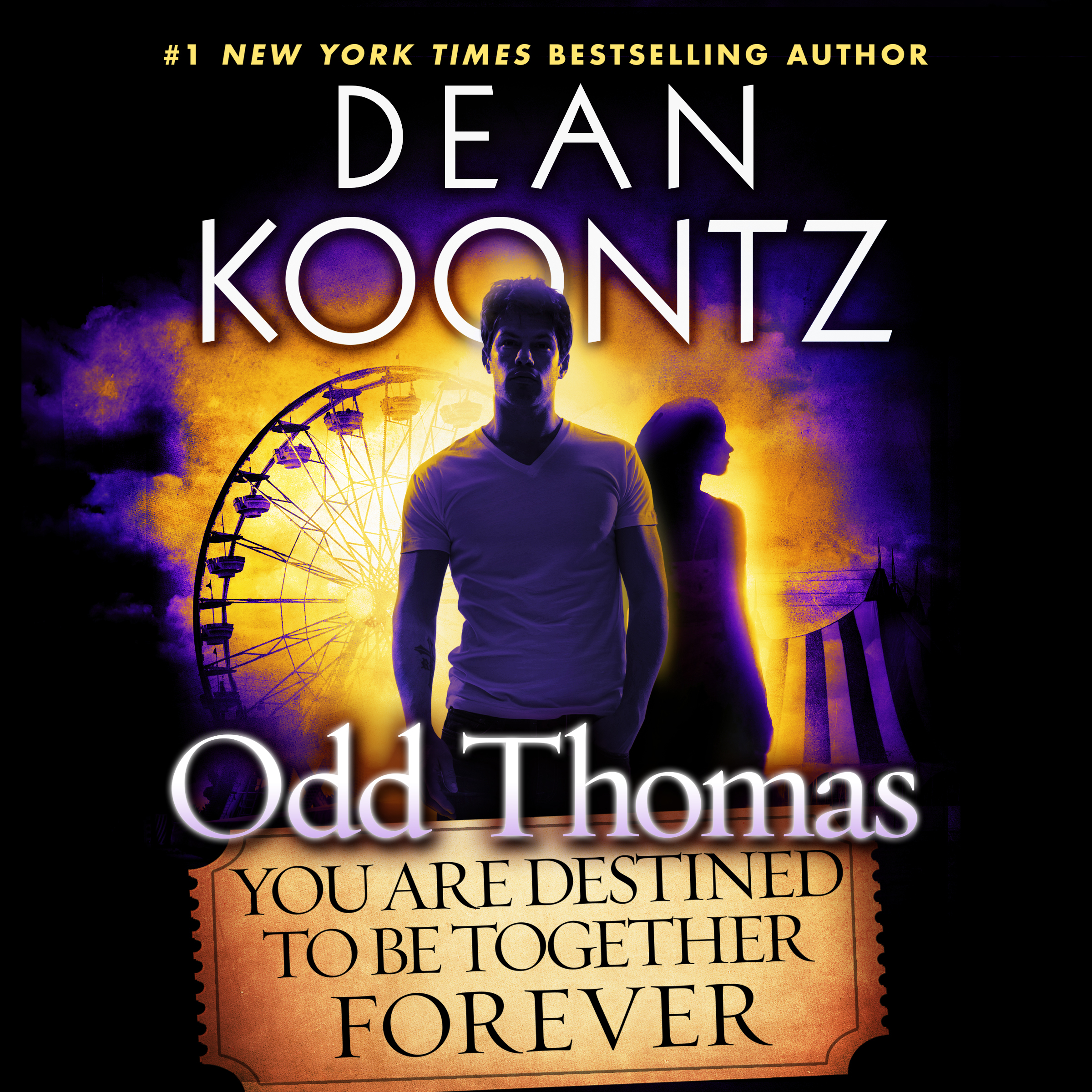 Printable Odd Thomas: You Are Destined to Be Together Forever Audiobook Cover Art
