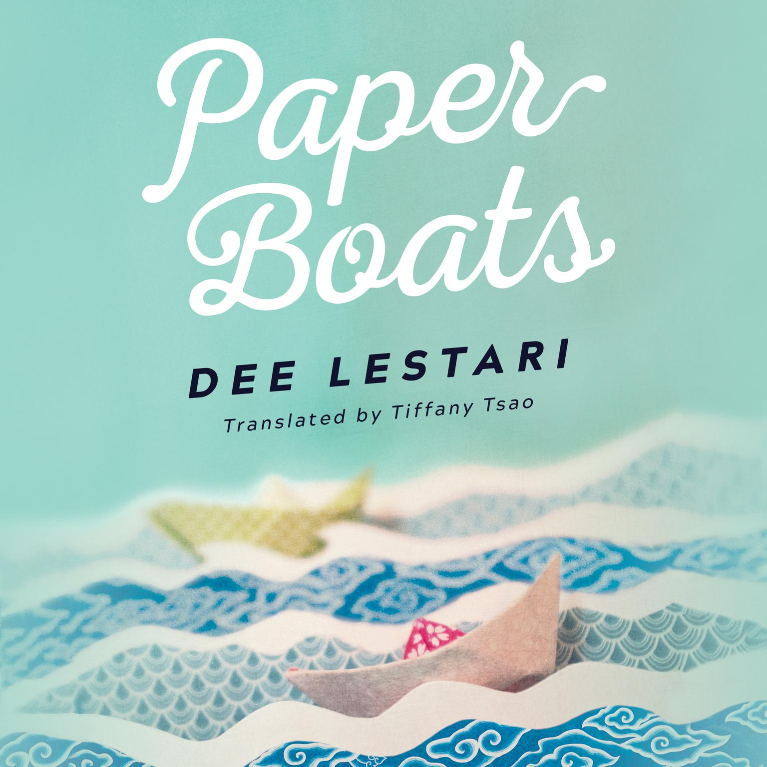 Printable Paper Boats Audiobook Cover Art