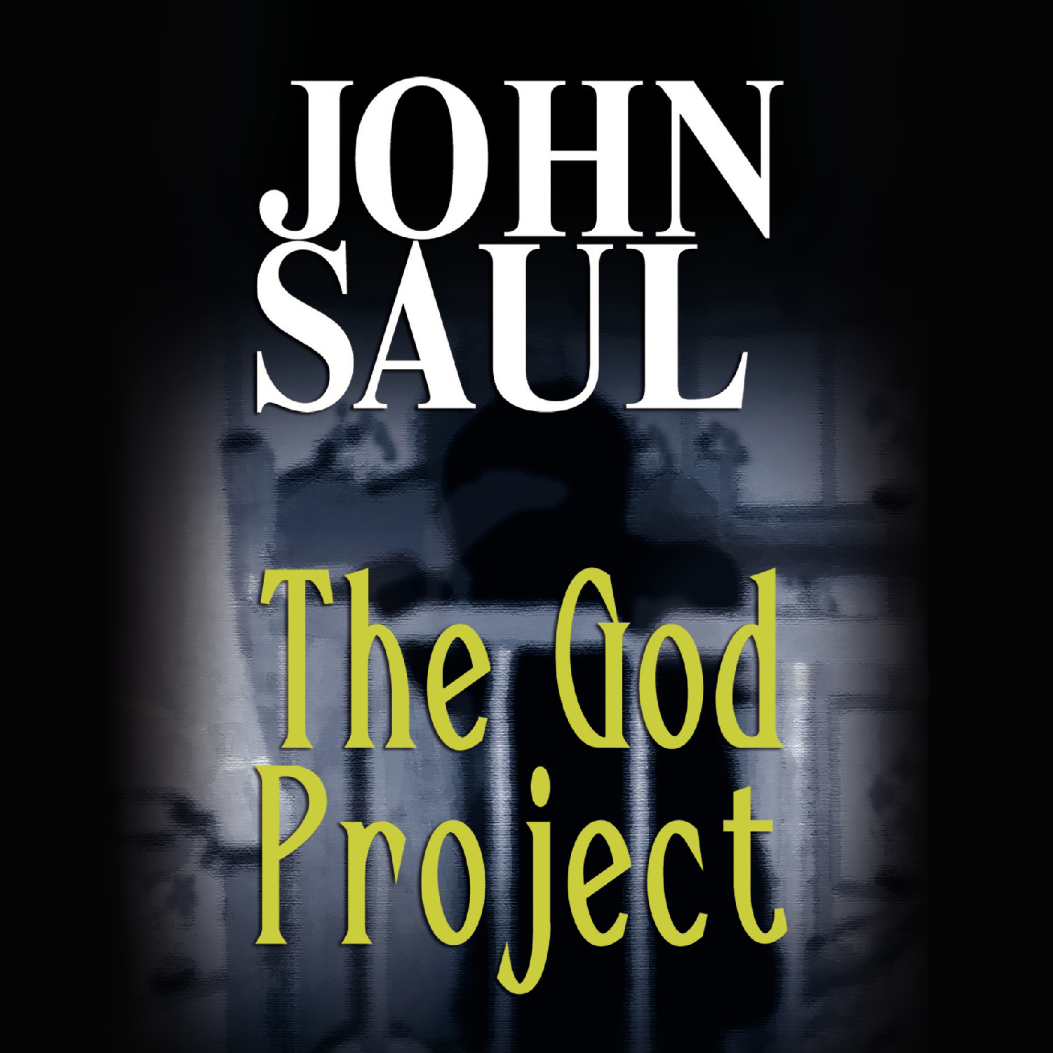 Printable The God Project Audiobook Cover Art