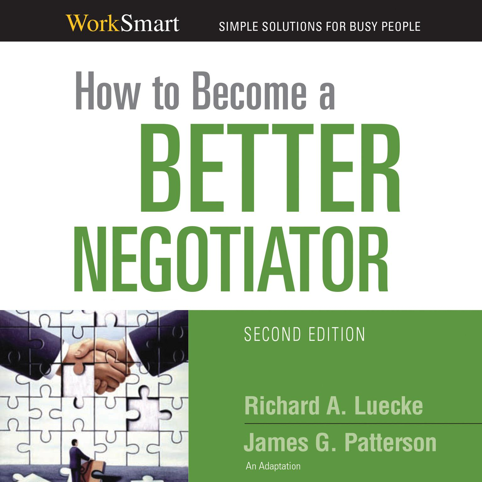 Printable How to Become a Better Negotiator Audiobook Cover Art