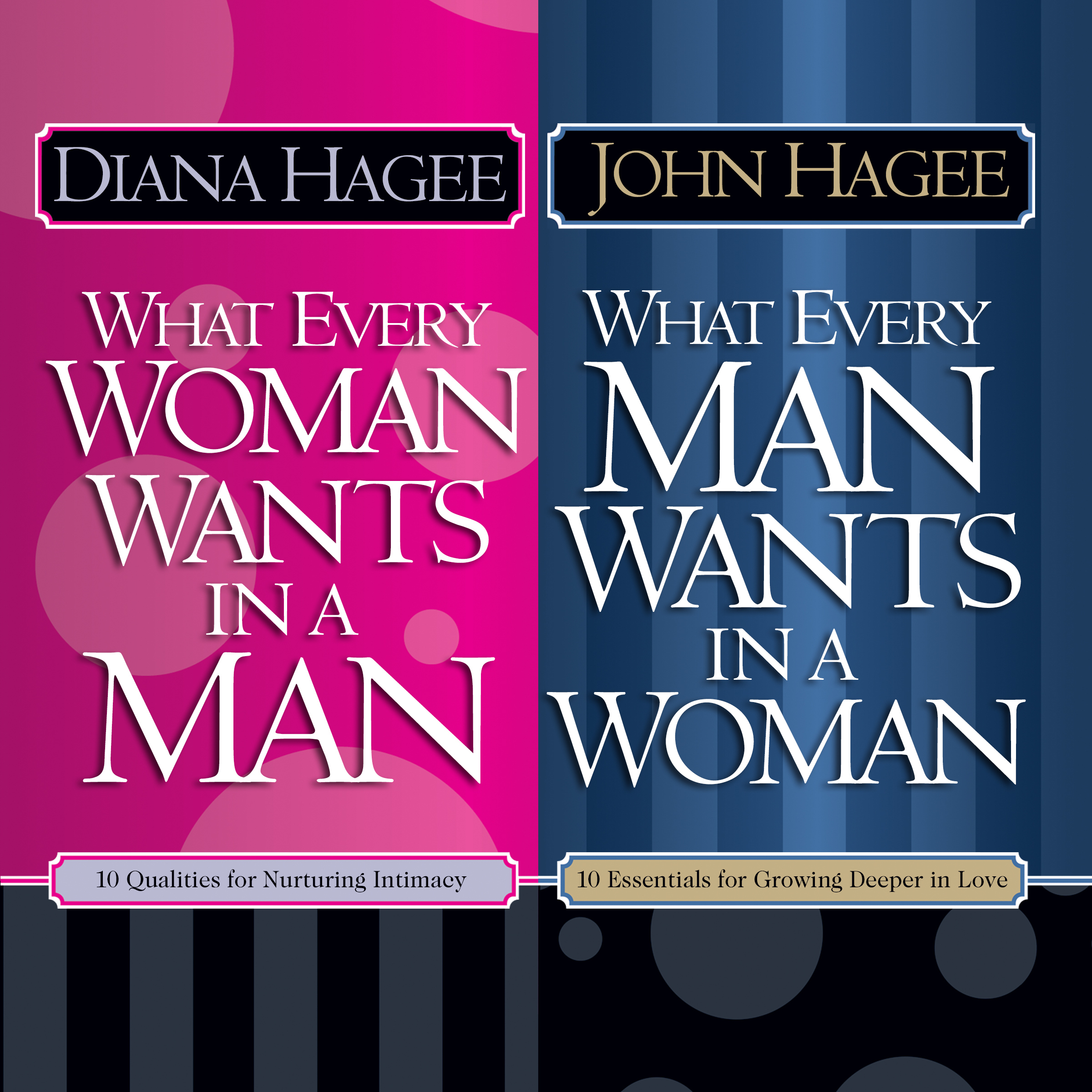 Printable What Every Man Wants in a Woman; What Every Woman Wants in a Man Audiobook Cover Art