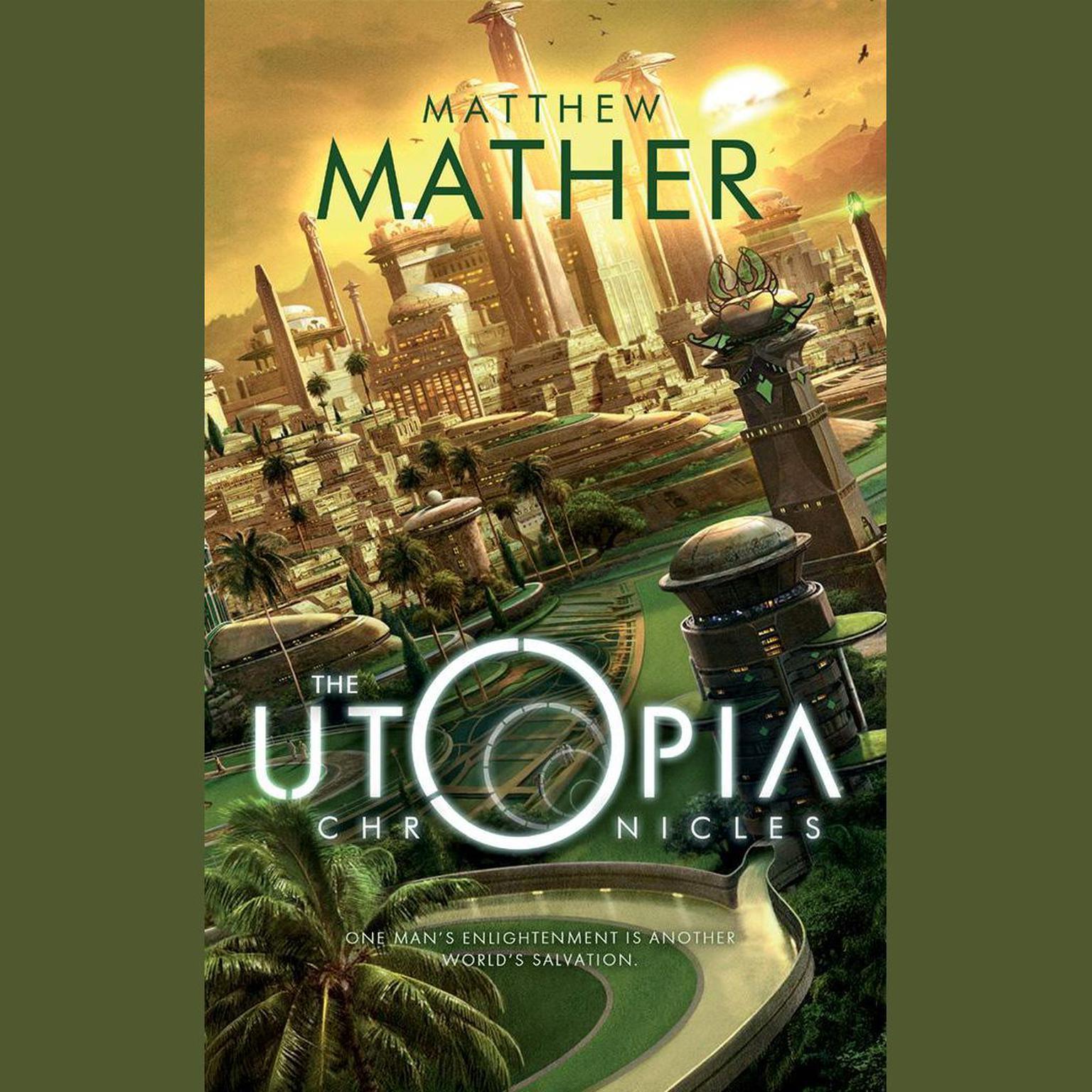 Printable The Utopia Chronicles Audiobook Cover Art
