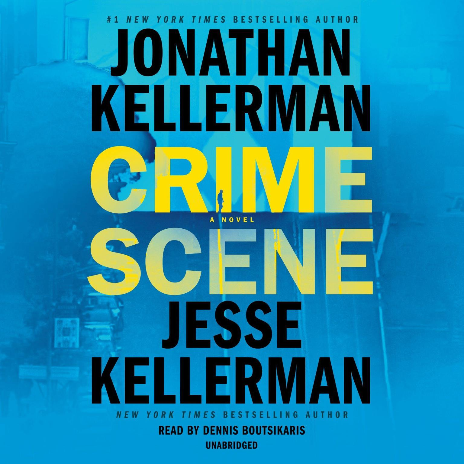 Printable Crime Scene: A Novel Audiobook Cover Art