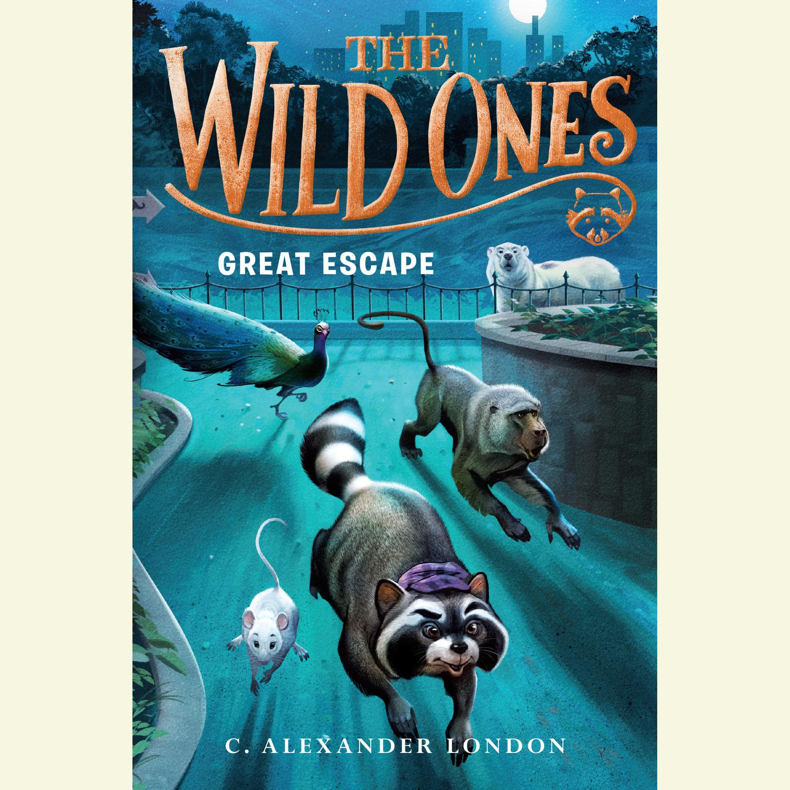 Printable The Wild Ones: Great Escape Audiobook Cover Art