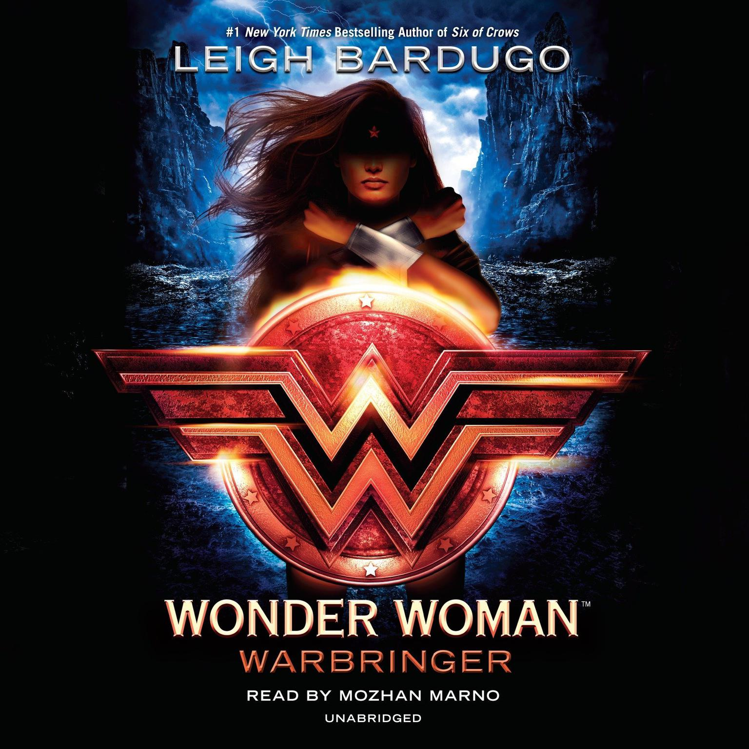 Printable Wonder Woman: Warbringer Audiobook Cover Art