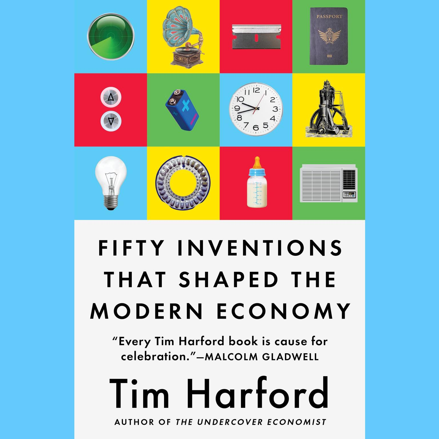 Printable Fifty Inventions That Shaped the Modern Economy Audiobook Cover Art