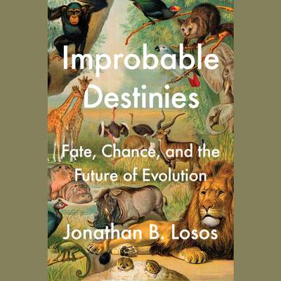 Improbable Destinies: Fate, Chance, and the Future of Evolution Audiobook, by Jonathan B. Losos