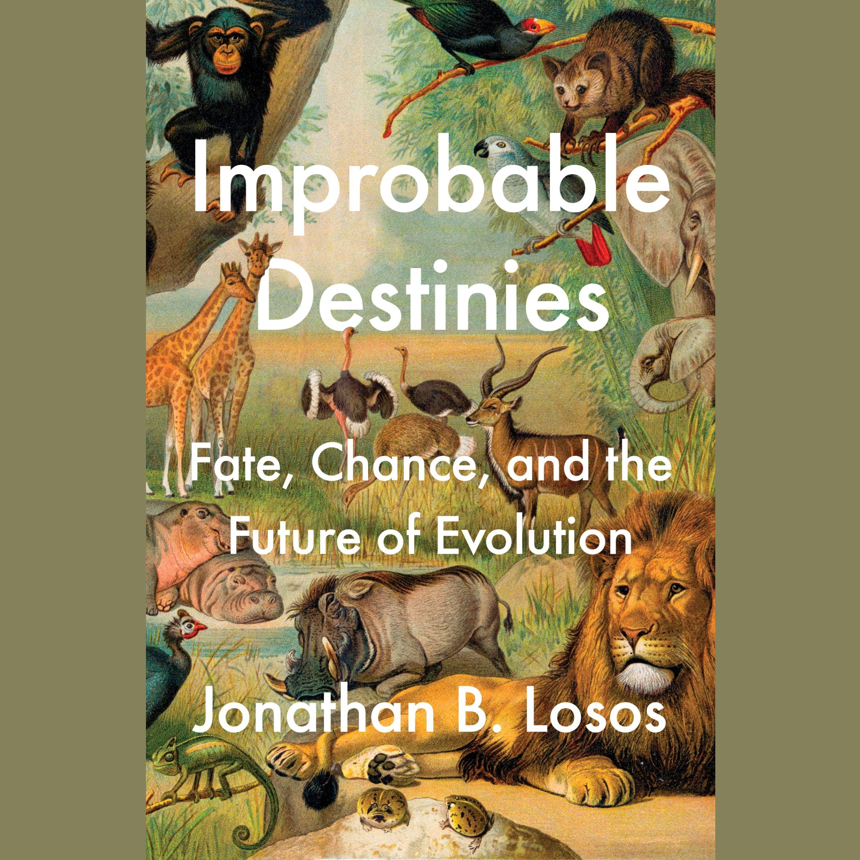 Printable Improbable Destinies: Fate, Chance, and the Future of Evolution Audiobook Cover Art
